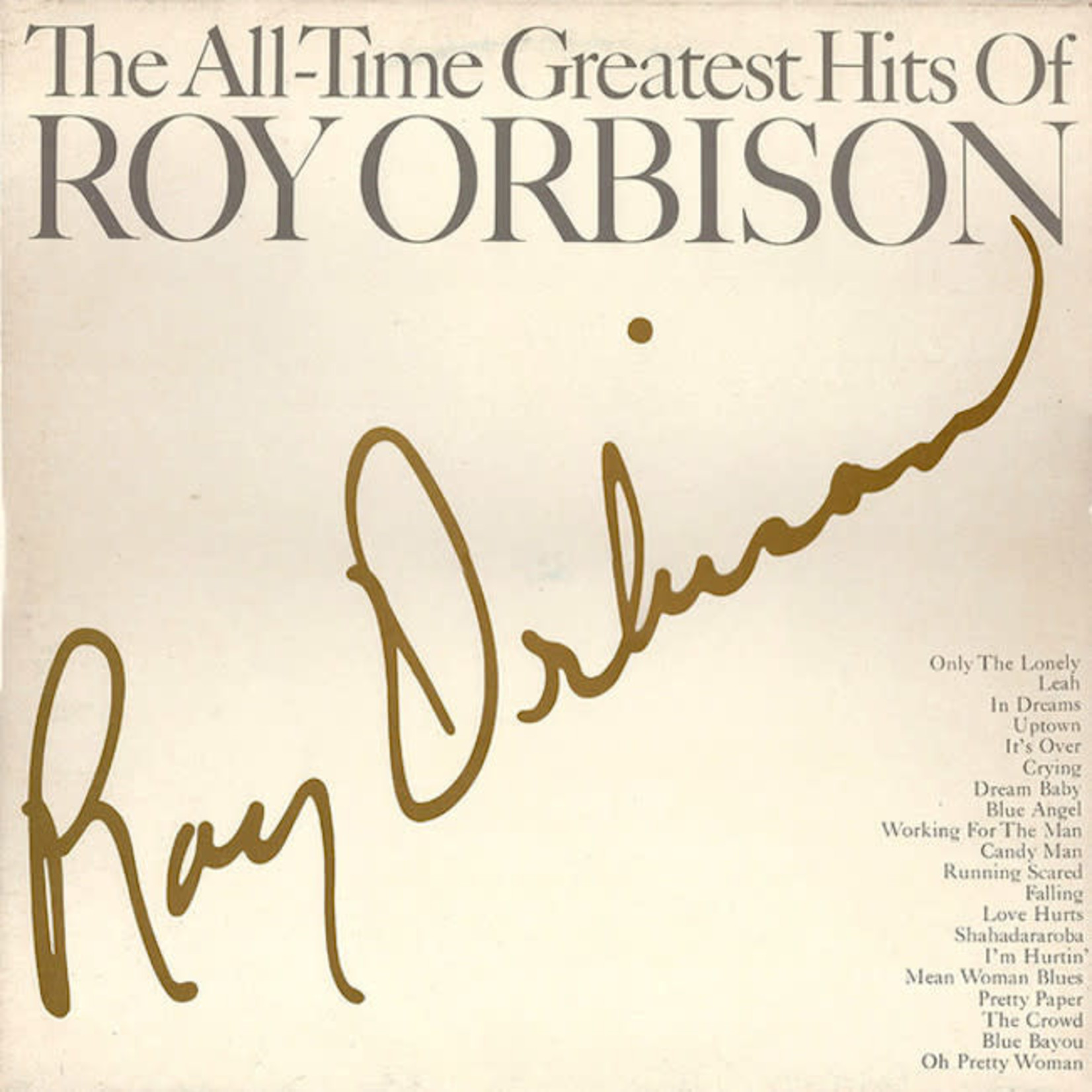 [Vintage] Orbison, Roy: The All-Time Greatest Hits of... (2LP)