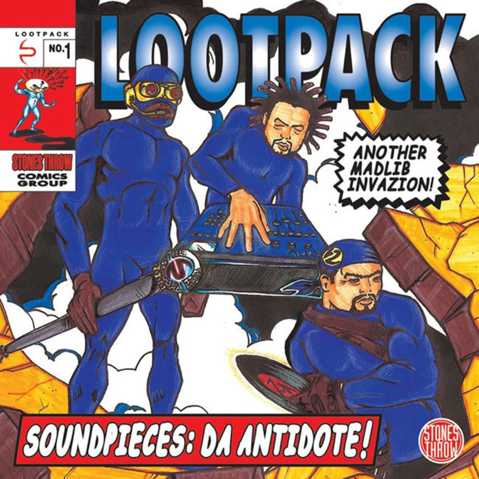 [New] Lootpack: Soundpieces: Da Antidote (3LP)