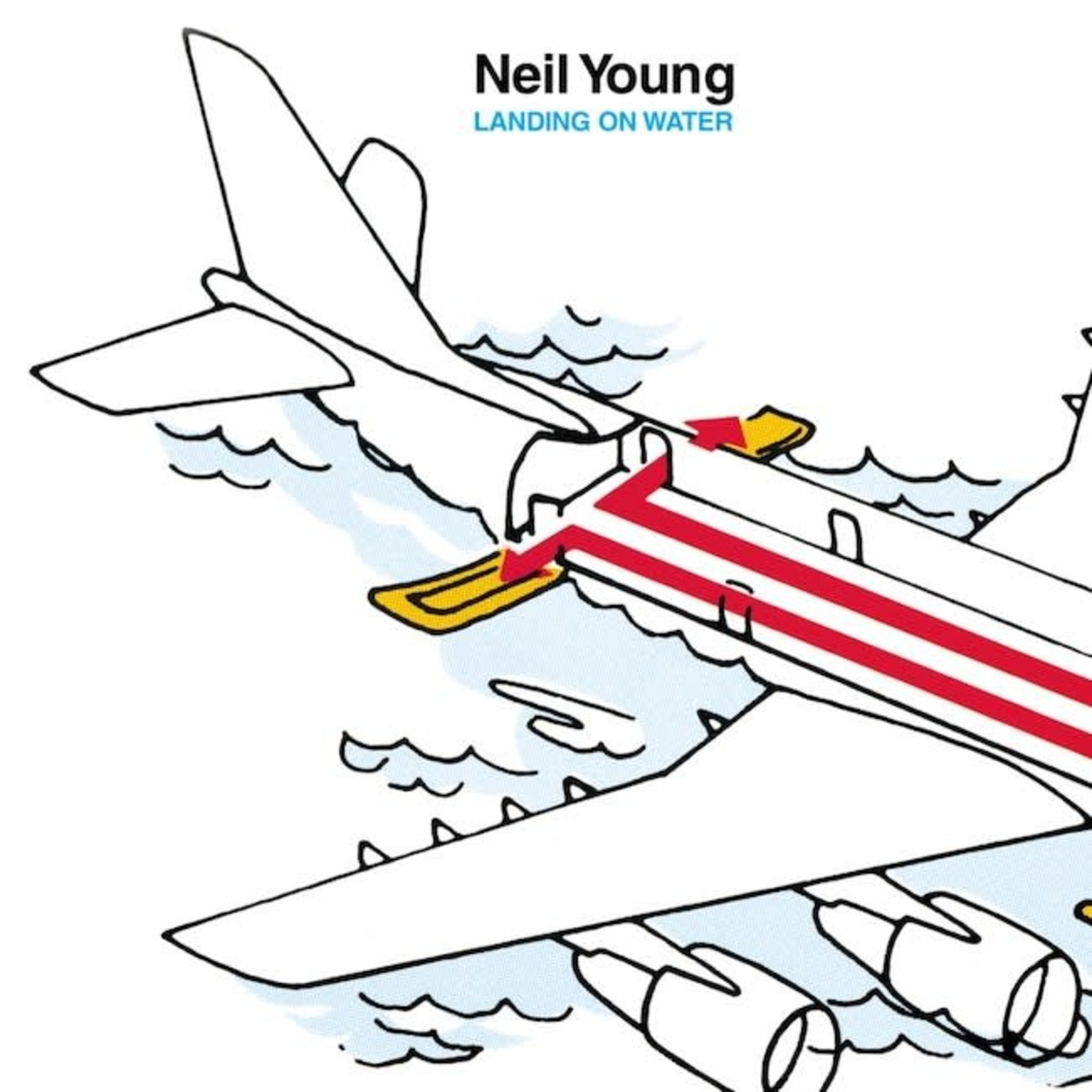 [Vintage] Young, Neil: Landing on Water
