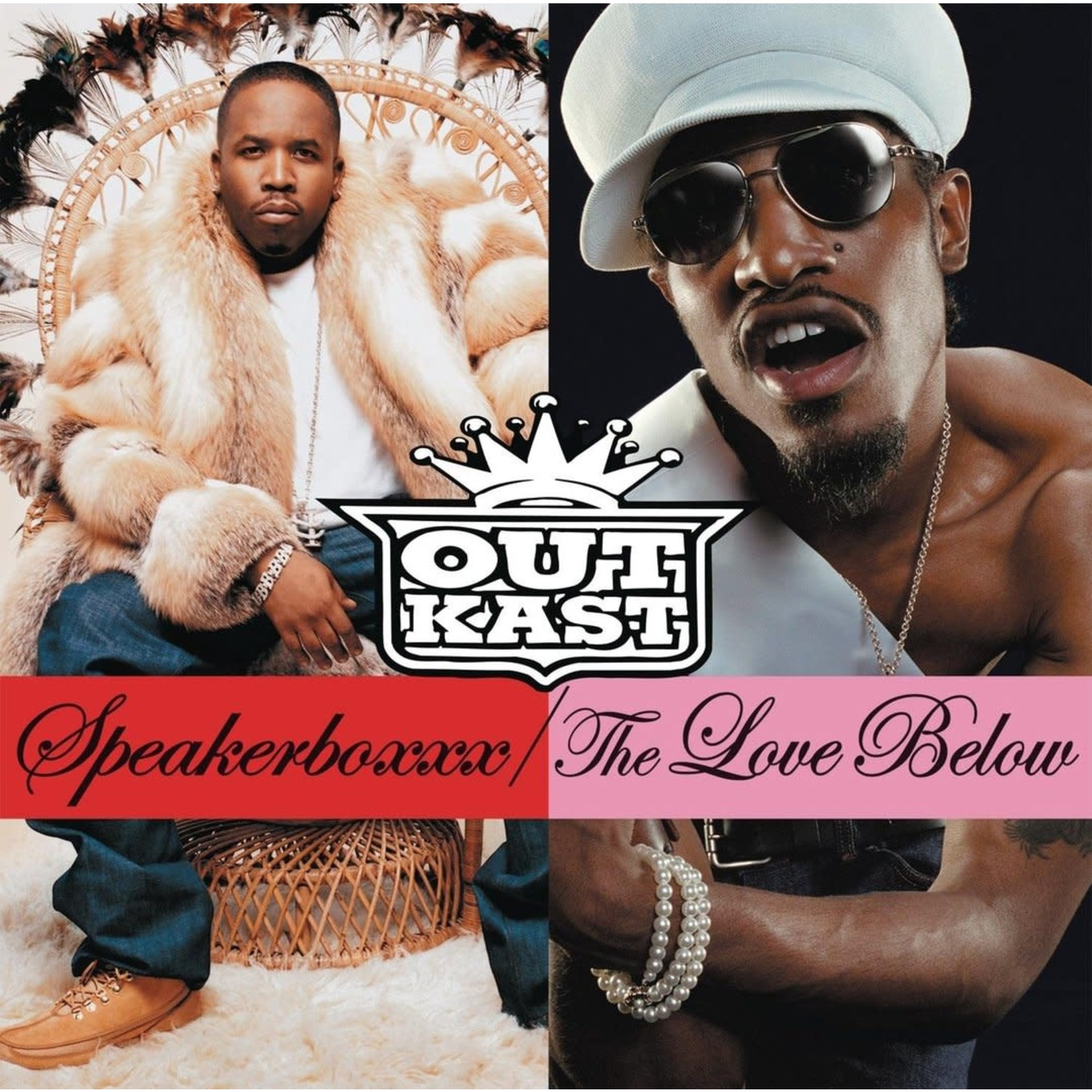 [New] Outkast: Speakerboxxx / The Love Below (4LP)