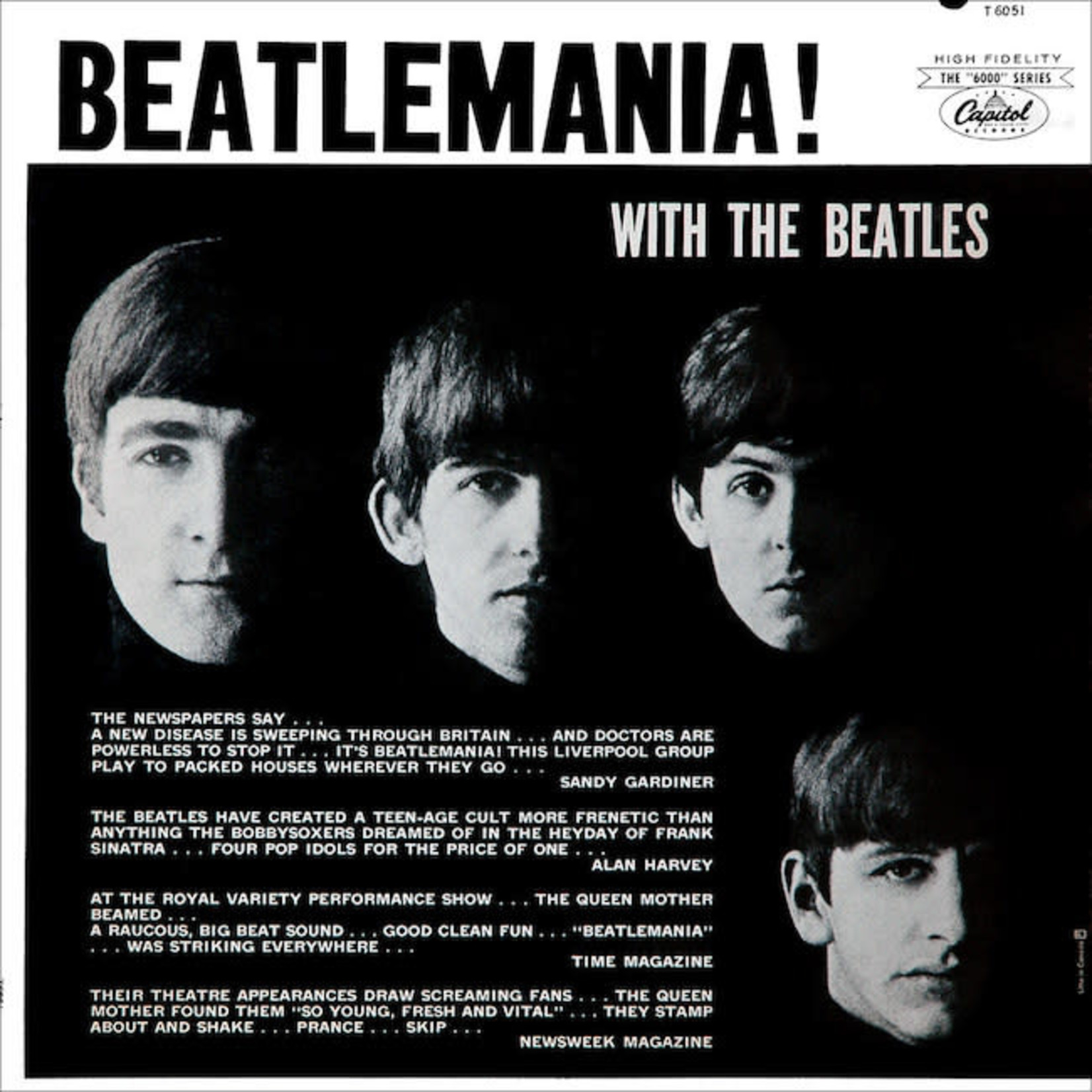 [Vintage] Beatles: Beatlemania! With the Beatles (Mono, reissue)