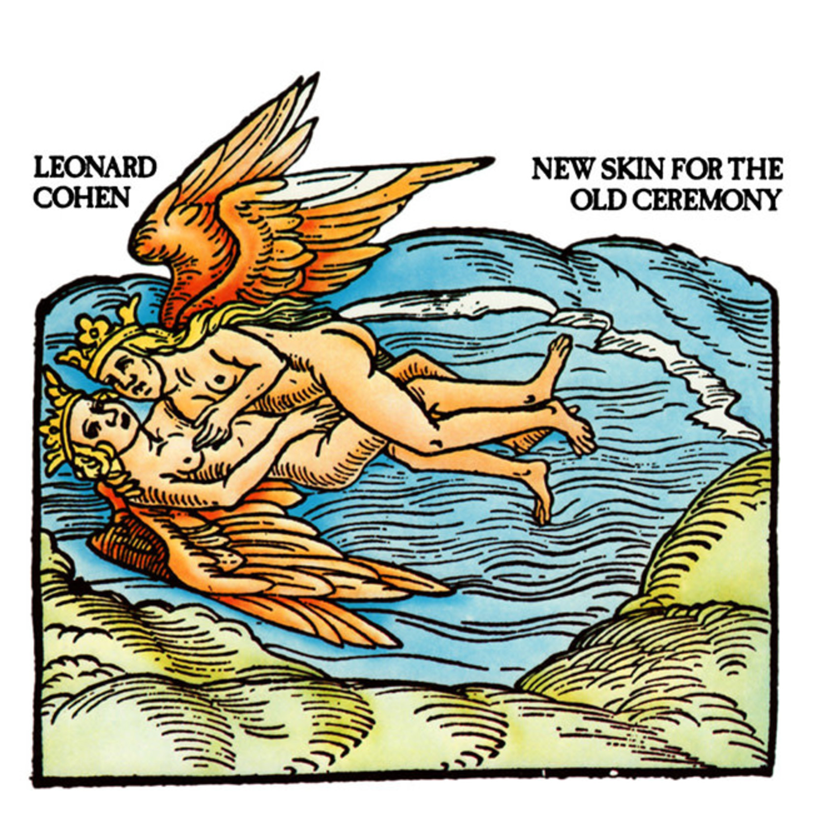 [New] Cohen, Leonard: New Skin For The Old Ceremony