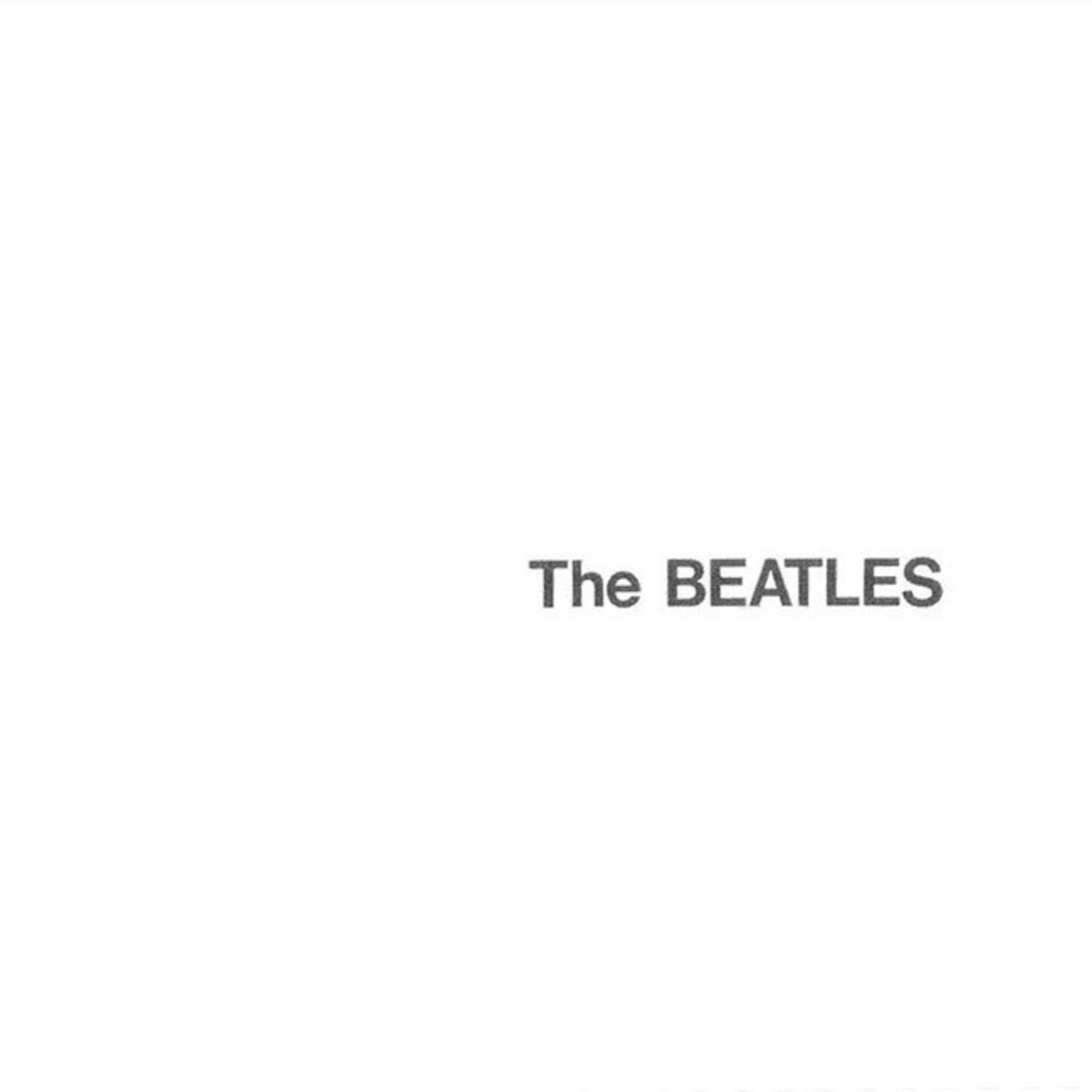 [New] Beatles: self-titled (The White Album) (2LP, Giles Martin stereo mix)