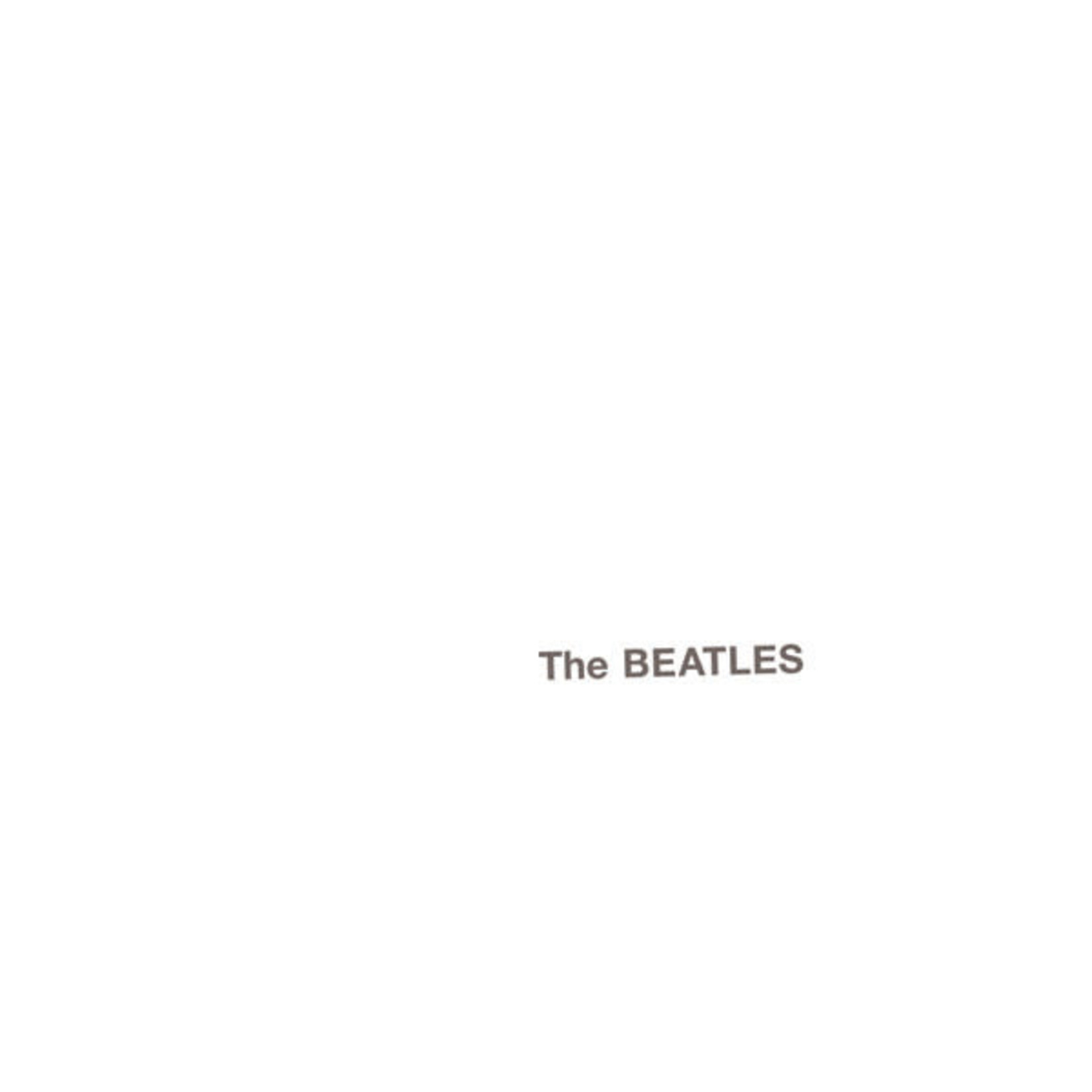 [Vintage] Beatles: self-titled (The White Album) (Capitol reissue, complete)