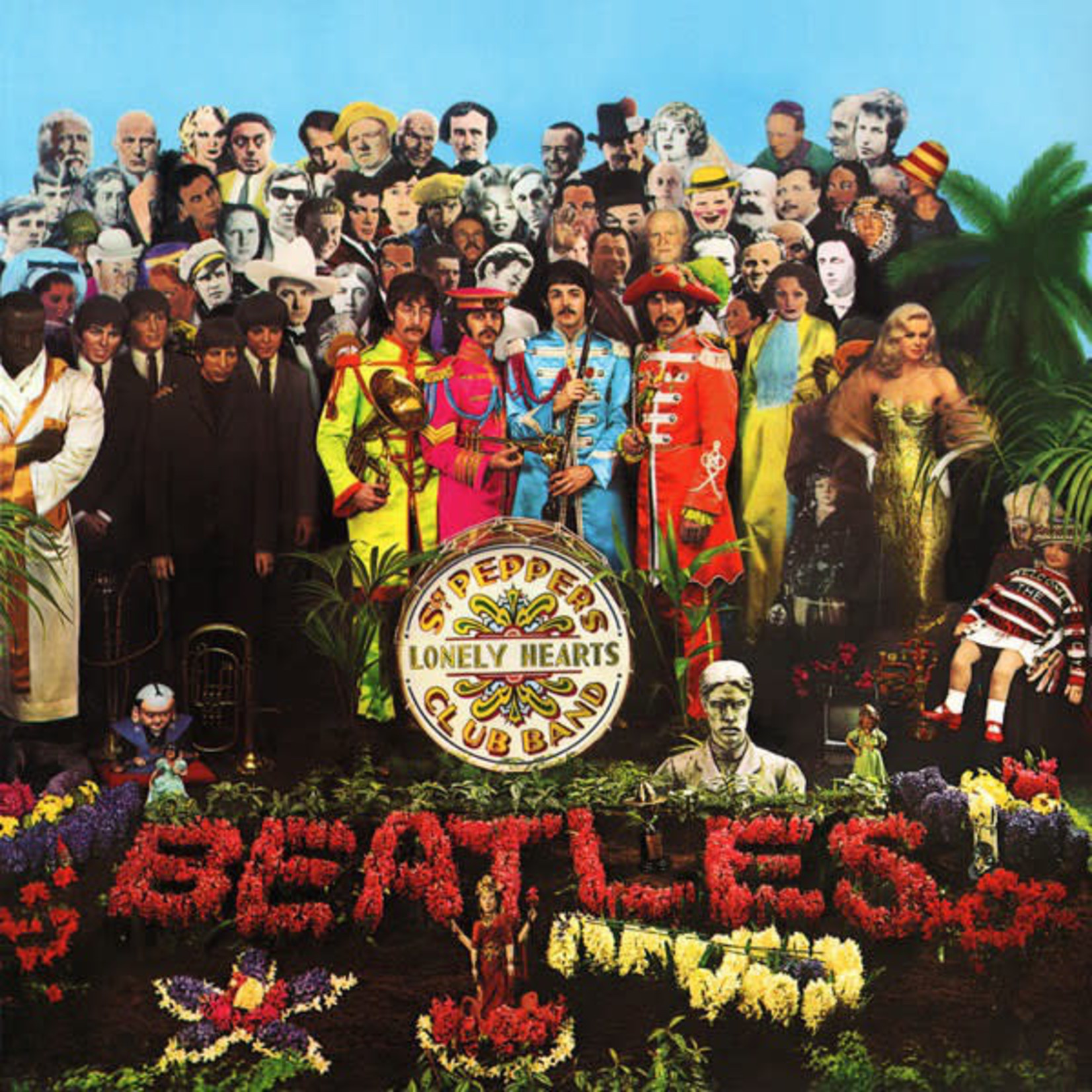 [Vintage] Beatles: Sgt. Pepper's Lonely Hearts Club Band (reissue, no inserts)