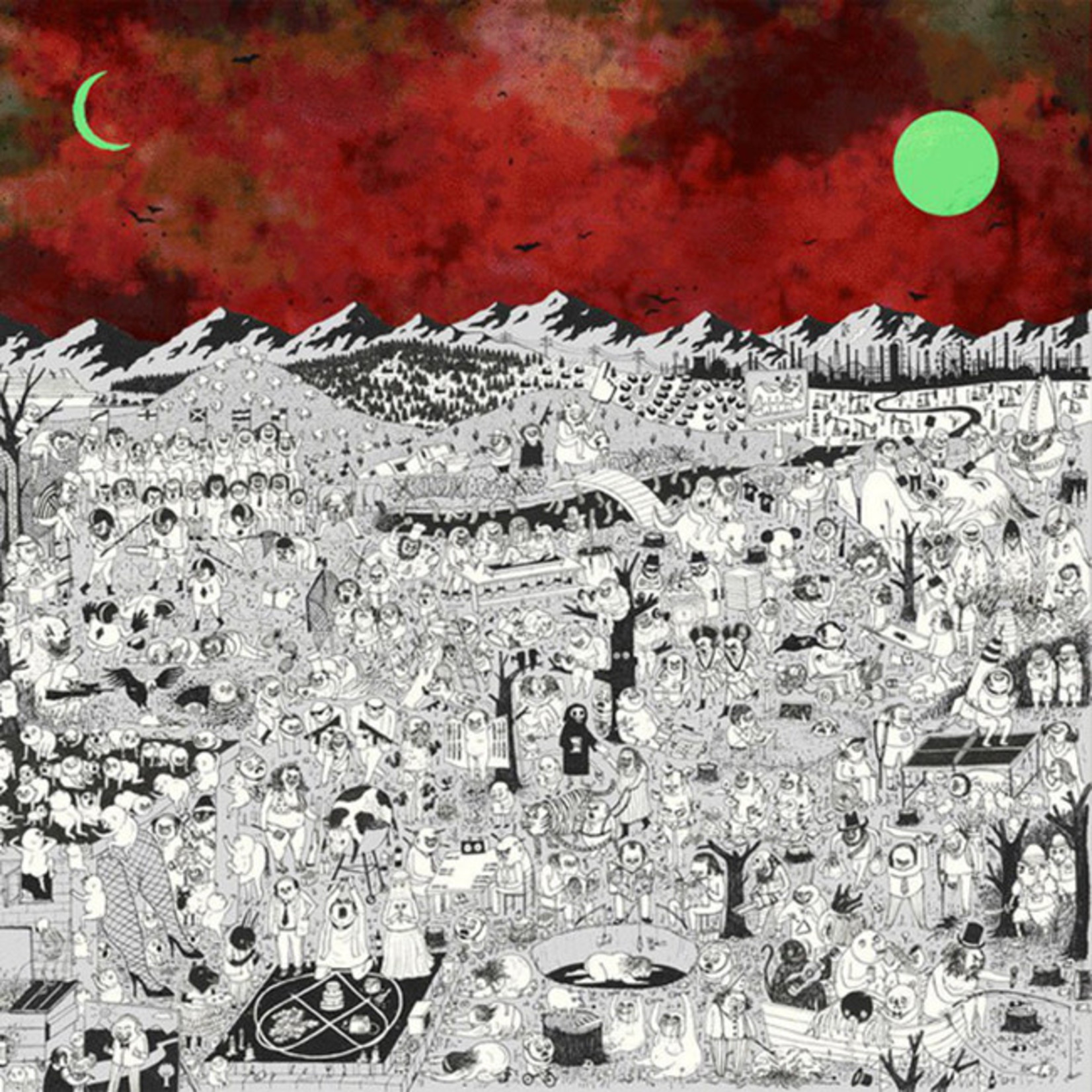 [New] Father John Misty: Pure Comedy (2LP, sunset cover)