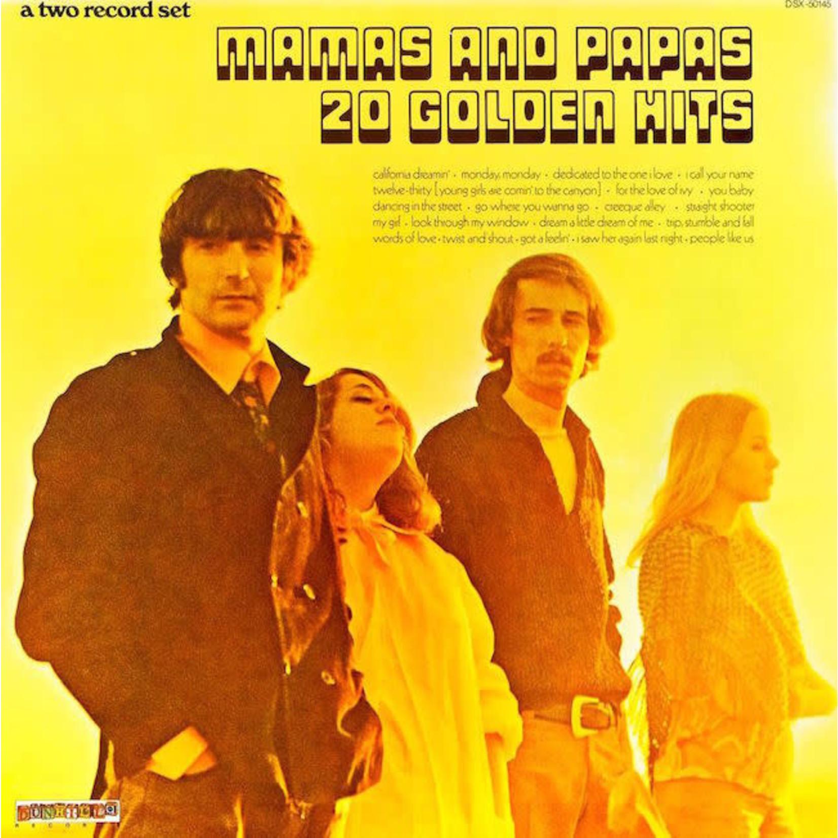 [Vintage] Mamas & Papas: 20 Golden Hits (2LP)