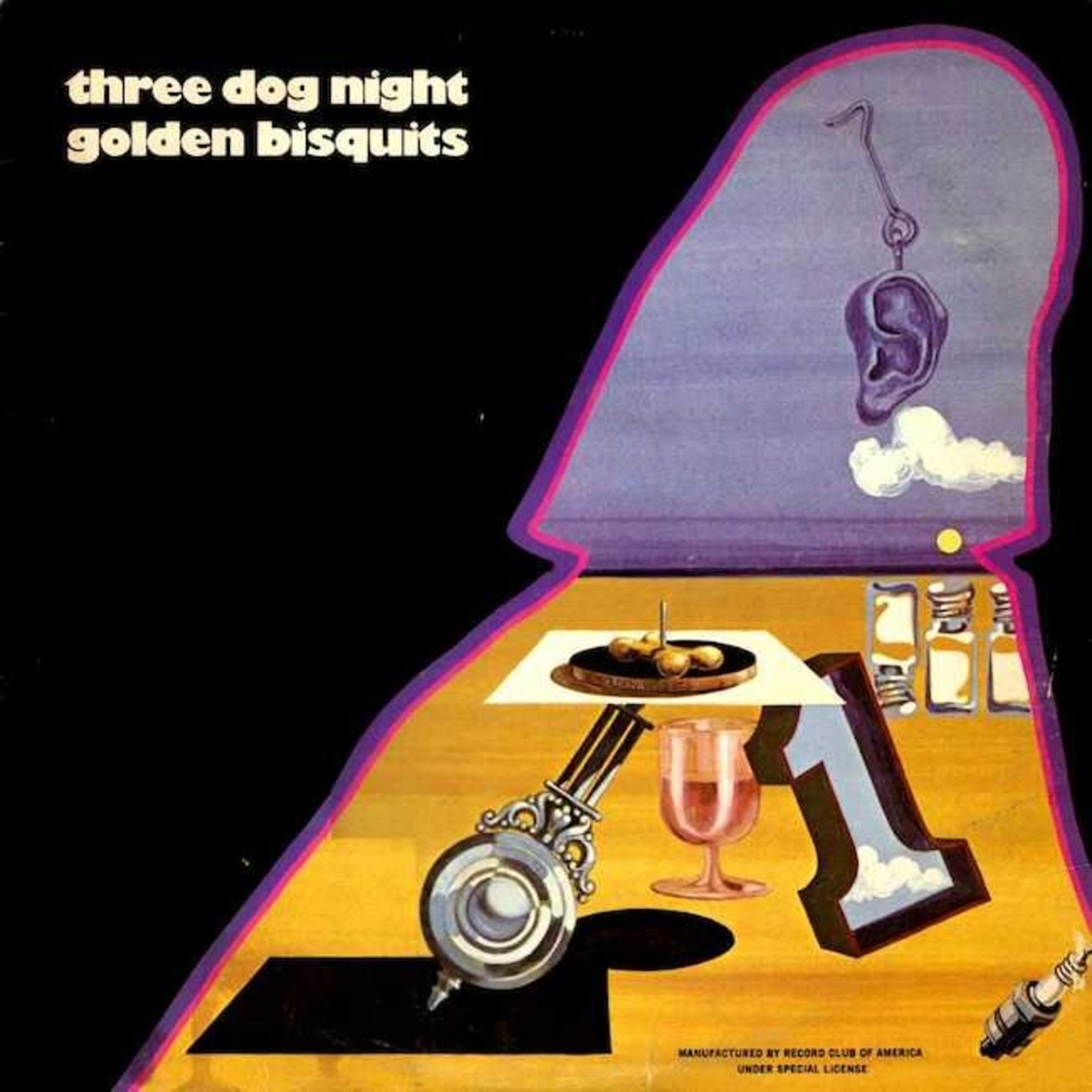 [Vintage] Three Dog Night: Golden Bisquits