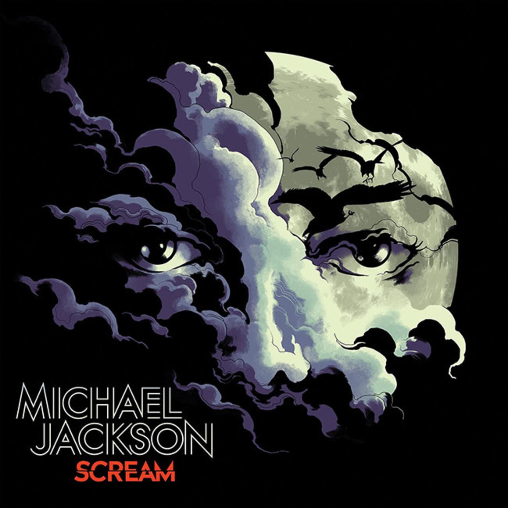 [New] Jackson, Michael: Scream (2LP, glow in the dark & translucent blue vinyl)