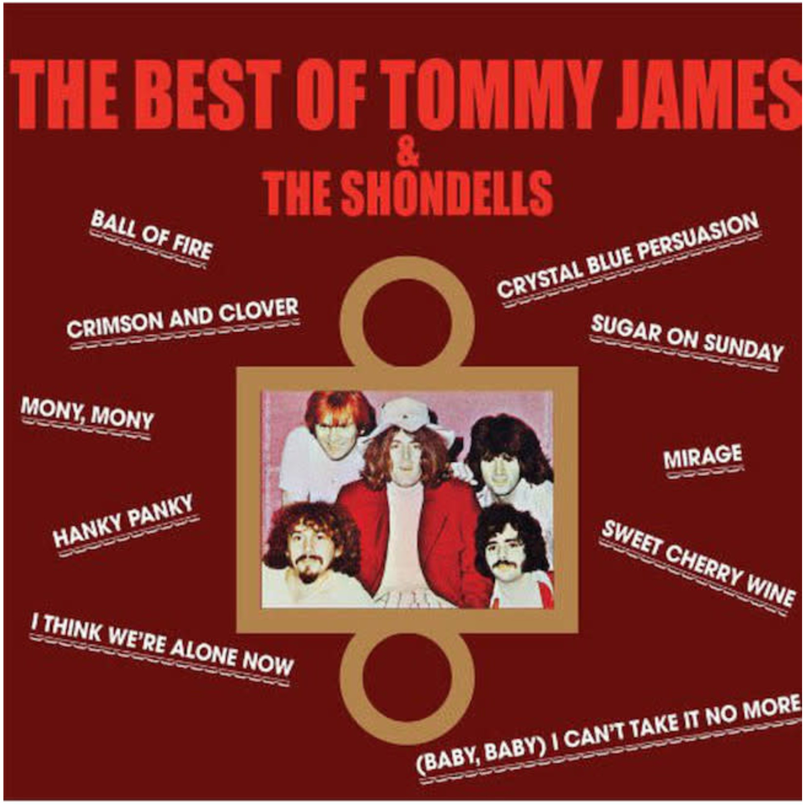 [Vintage] James, Tommy & the Shondells: Greatest Hits (or Best Of, 10 tracks)