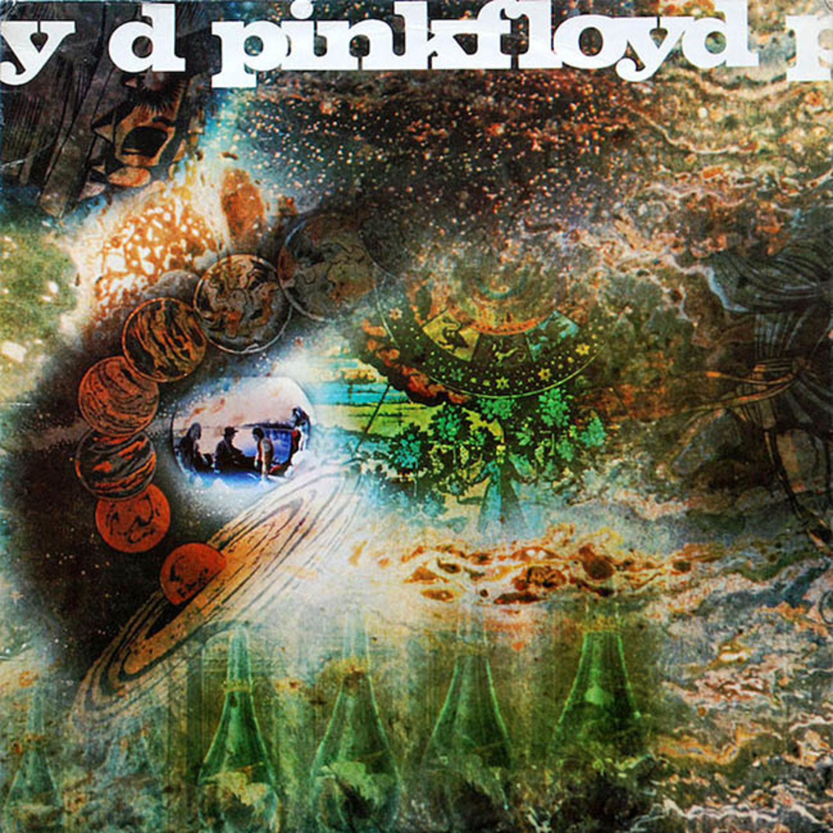 [New] Pink Floyd: A Saucerful Of Secrets (2016 remaster)