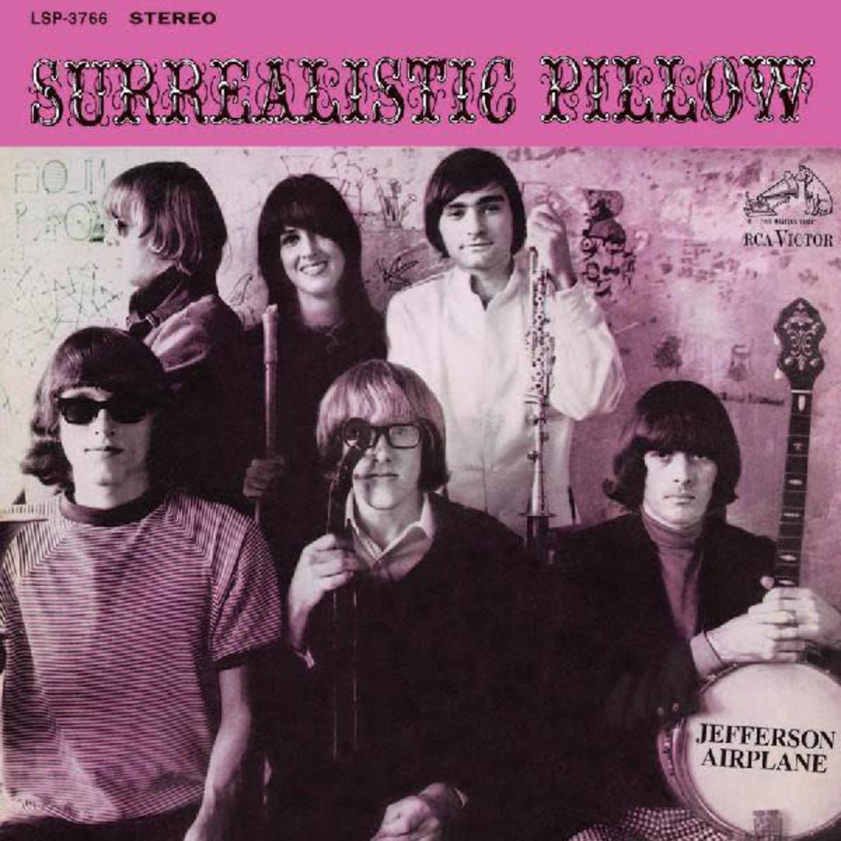 [Vintage] Jefferson Airplane: Surrealistic Pillow (reissue)