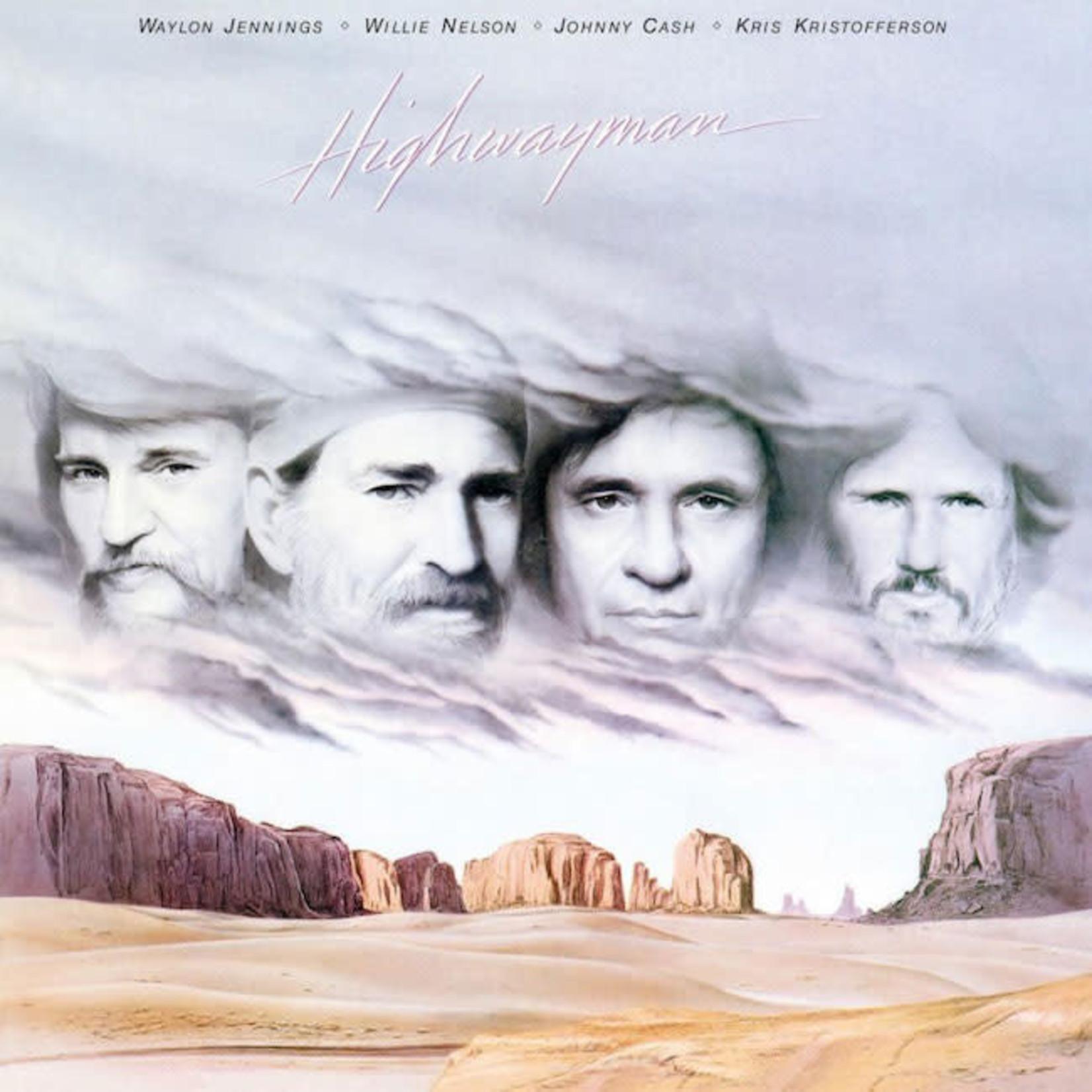 [Vintage] Jennings, Nelson, Cash, Kristofferson: Highwayman