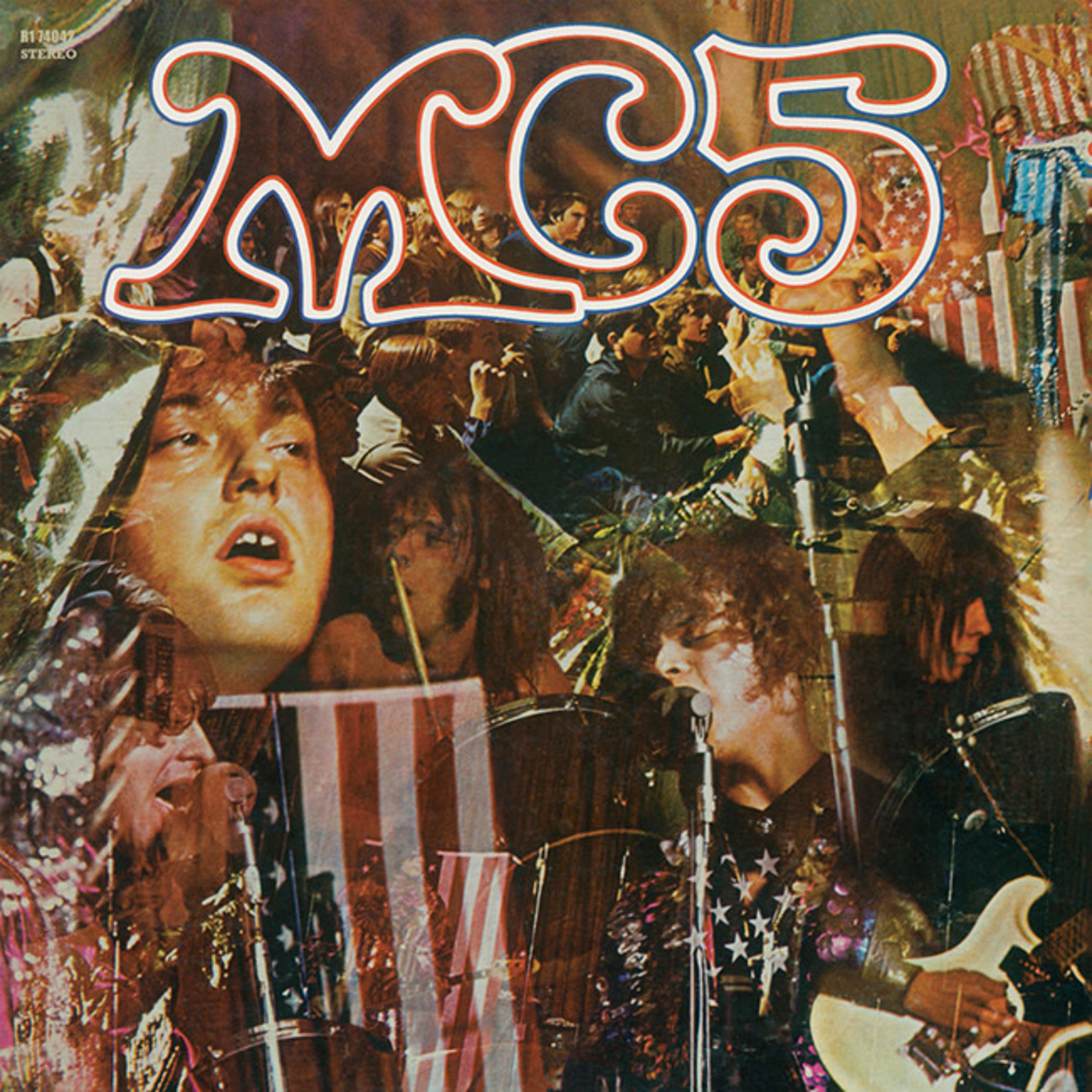 [New] MC5: Kick Out The Jams (Limited Ed., gatefold, red, white & blue vinyl)