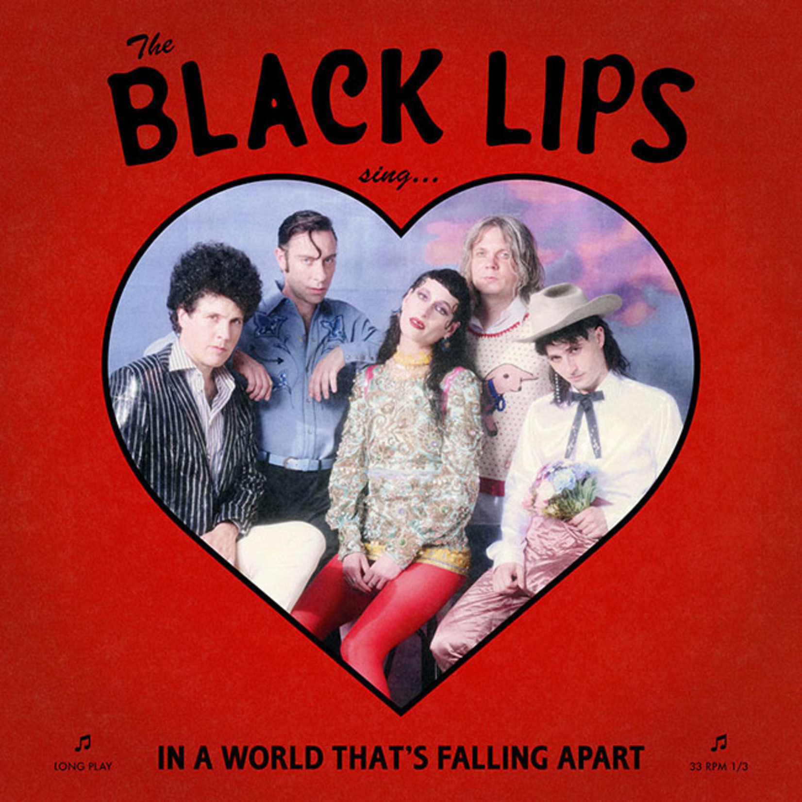 [New] Black Lips: Sing In A World That's Falling Apart (red vinyl)