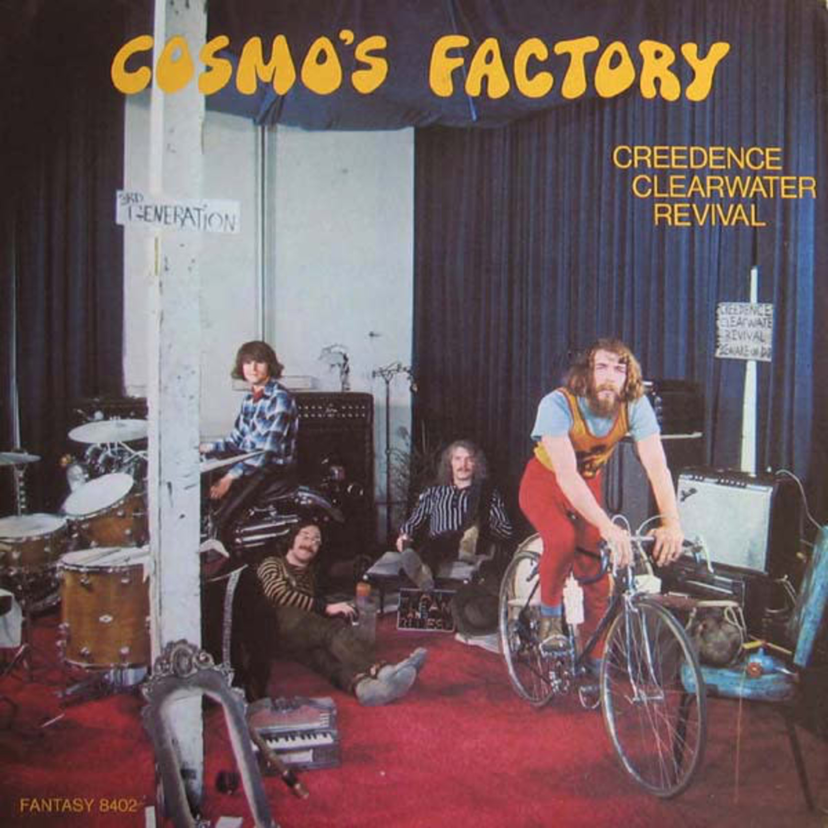 [Vintage] Creedence Clearwater Revival: Cosmo's Factory
