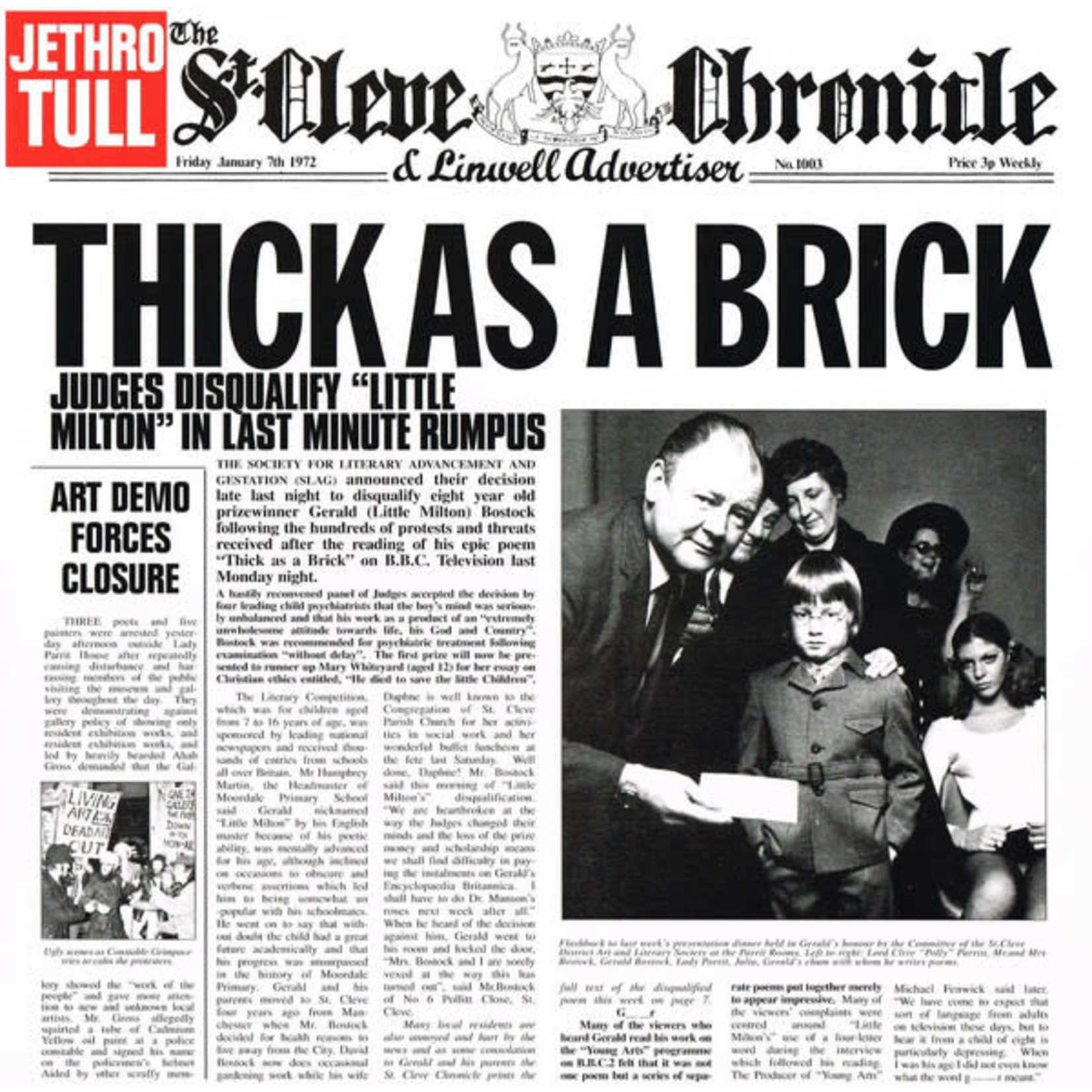 [New] Jethro Tull: Thick As A Brick