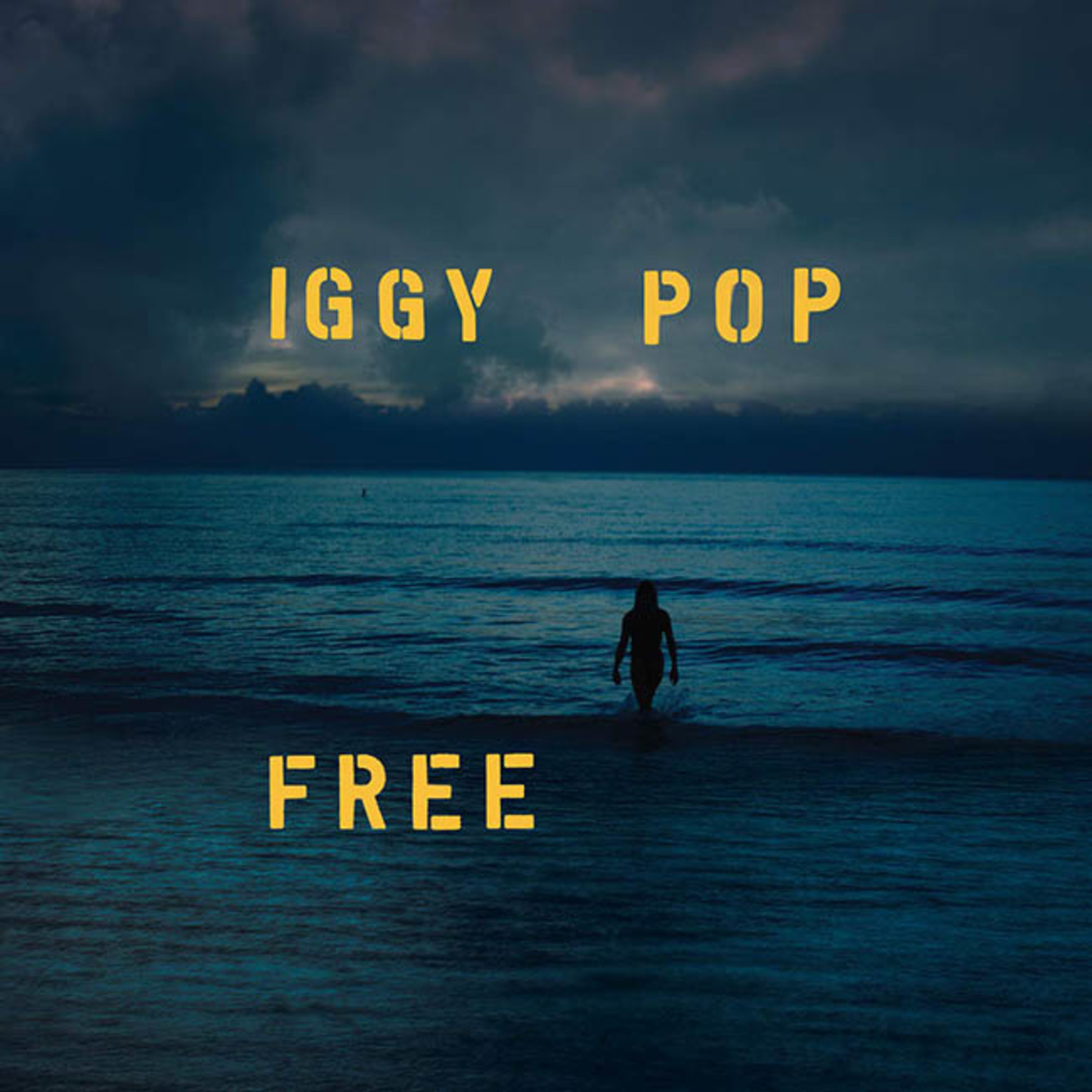 [New] Pop, Iggy (Stooges): Free (blue vinyl)