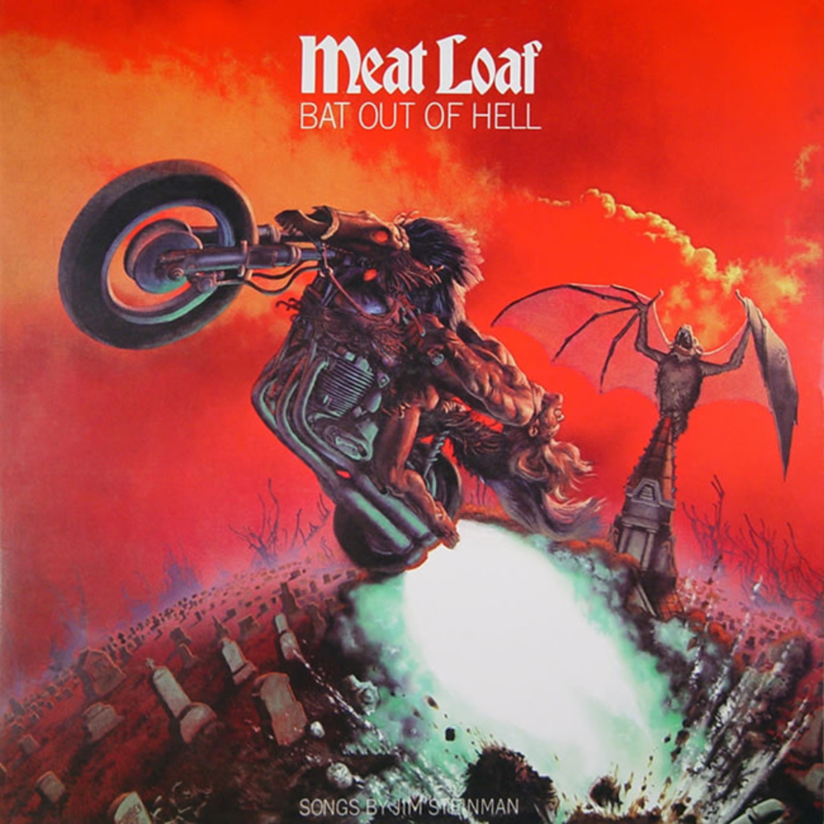 [New] Meat Loaf: Bat Out Of Hell II - Back Into Hell (2LP)