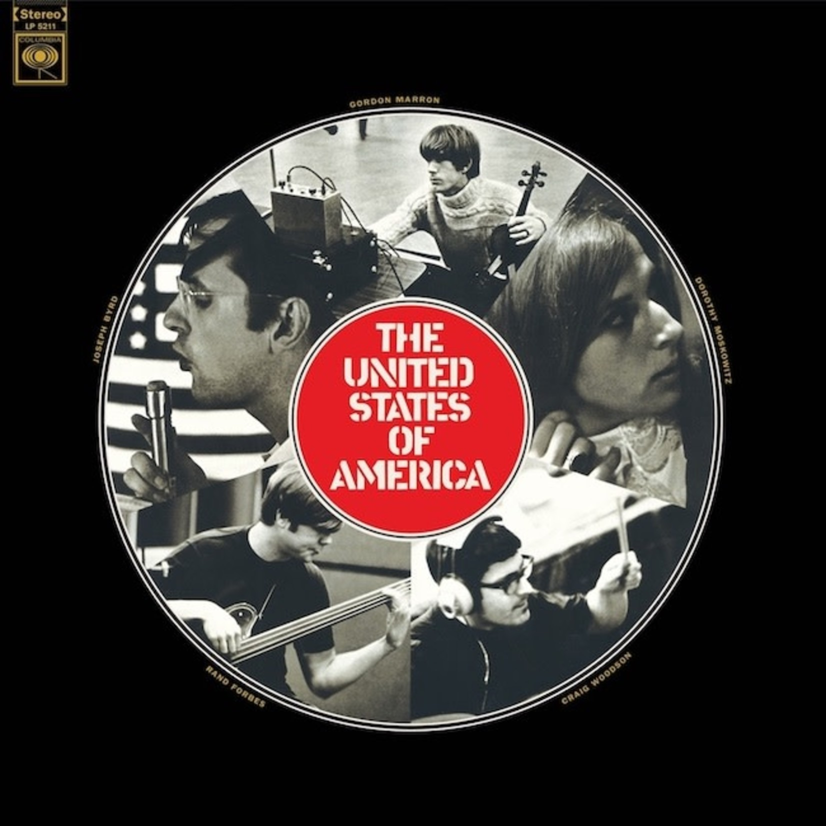 [New] United States of America: self-titled (mono mix, clear vinyl)