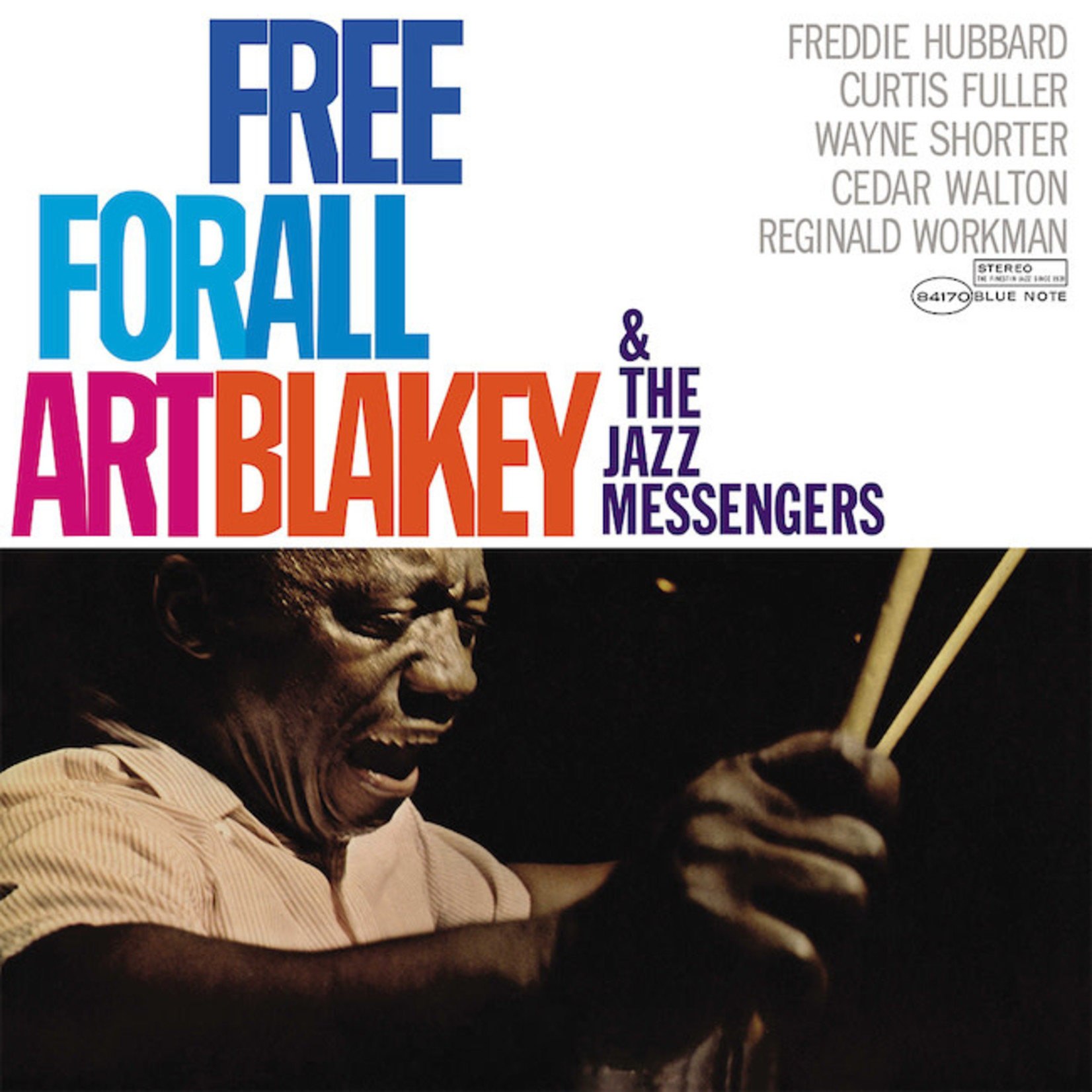 [New] Blakey, Art & the Jazz Messengers: Free For All
