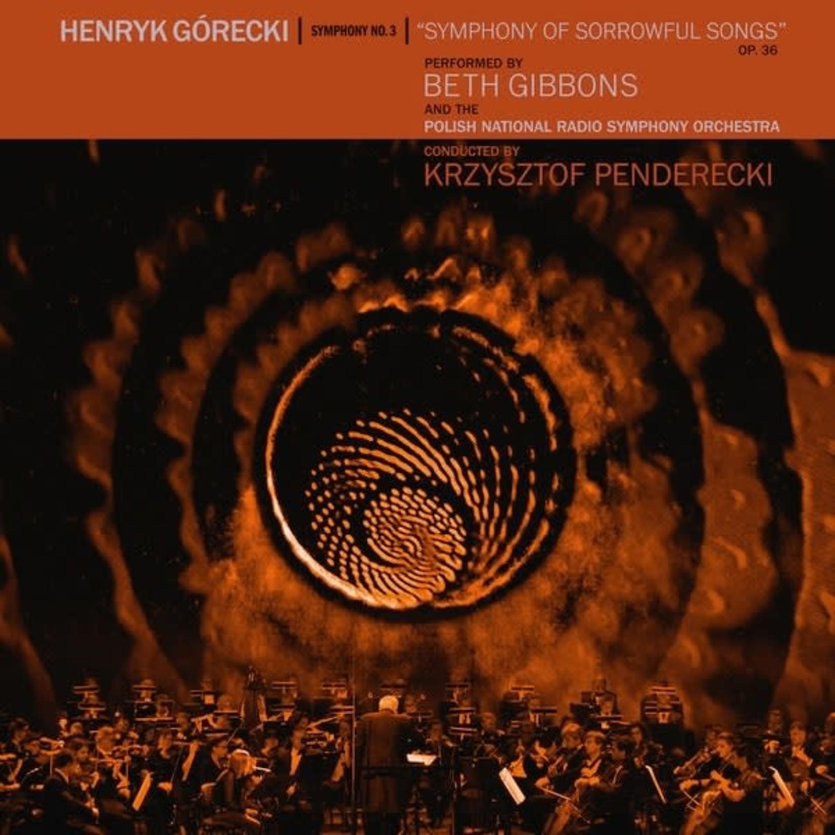 [New] Gibbons, Beth (Portishead): Henryk Gorecki: Symphony No.3 (Symphony Of Sorrowful Songs) Op.36