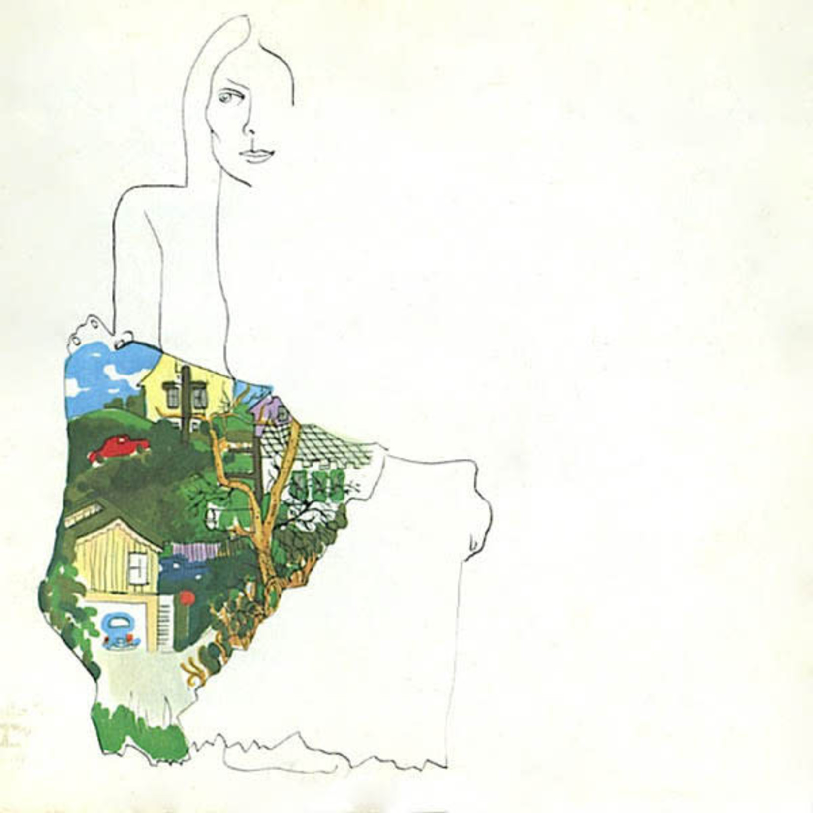 [Vintage] Mitchell, Joni: Ladies of the Canyon (reissue)