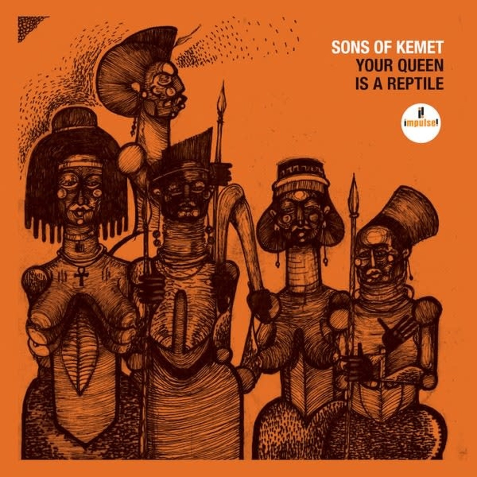 [New] Sons Of Kemet: Your Queen Is A Reptile (2LP)
