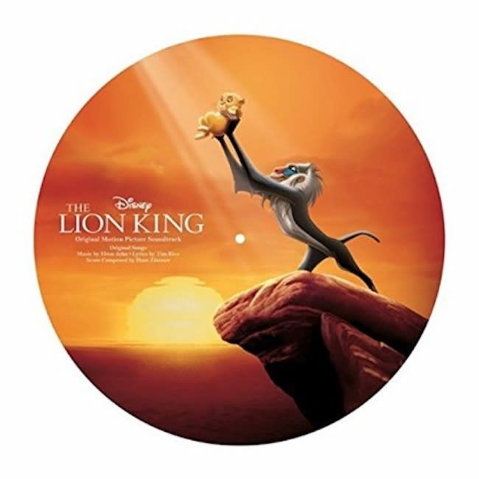 [New] Various: The Lion King (soundtrack) (picture disc)