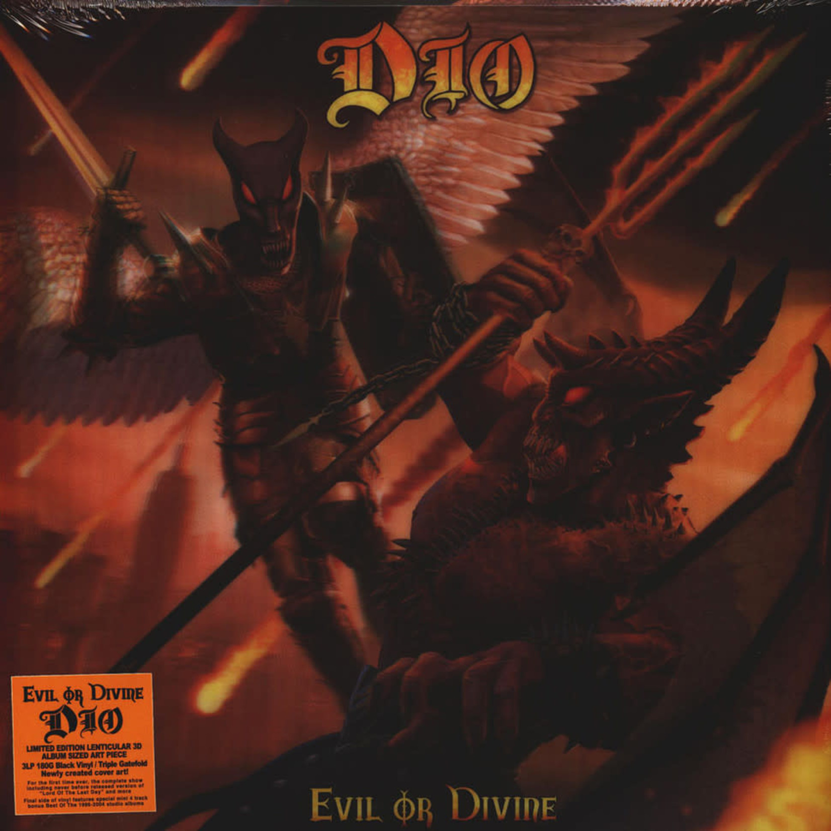 [New] Dio: Evil Or Divine: Live In New York City (3LP)