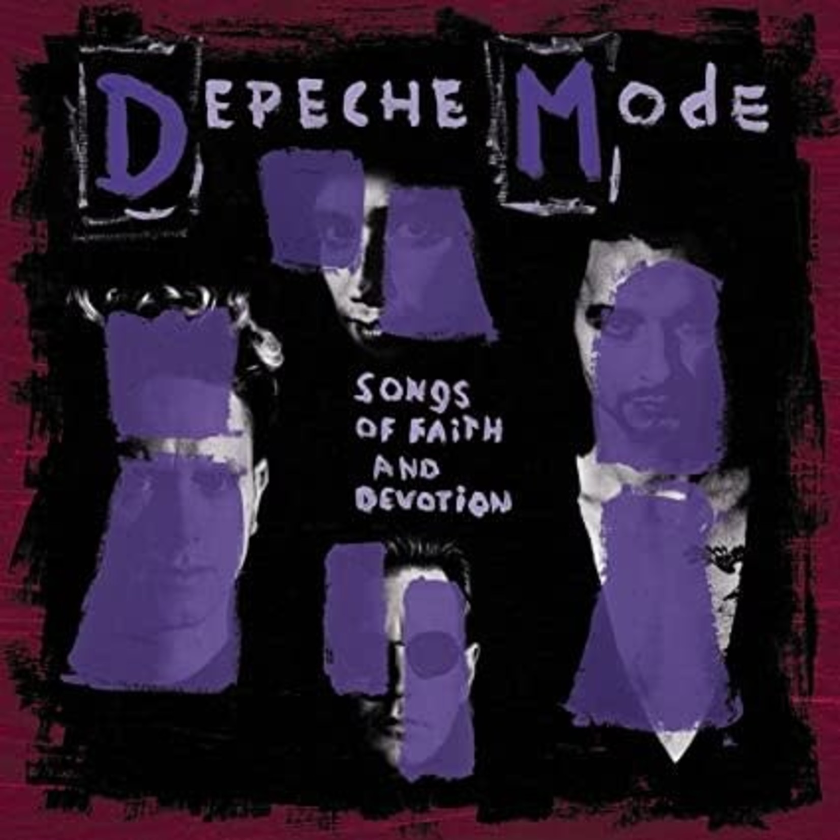 [New] Depeche Mode: Songs Of Faith And Dev.. (LP)