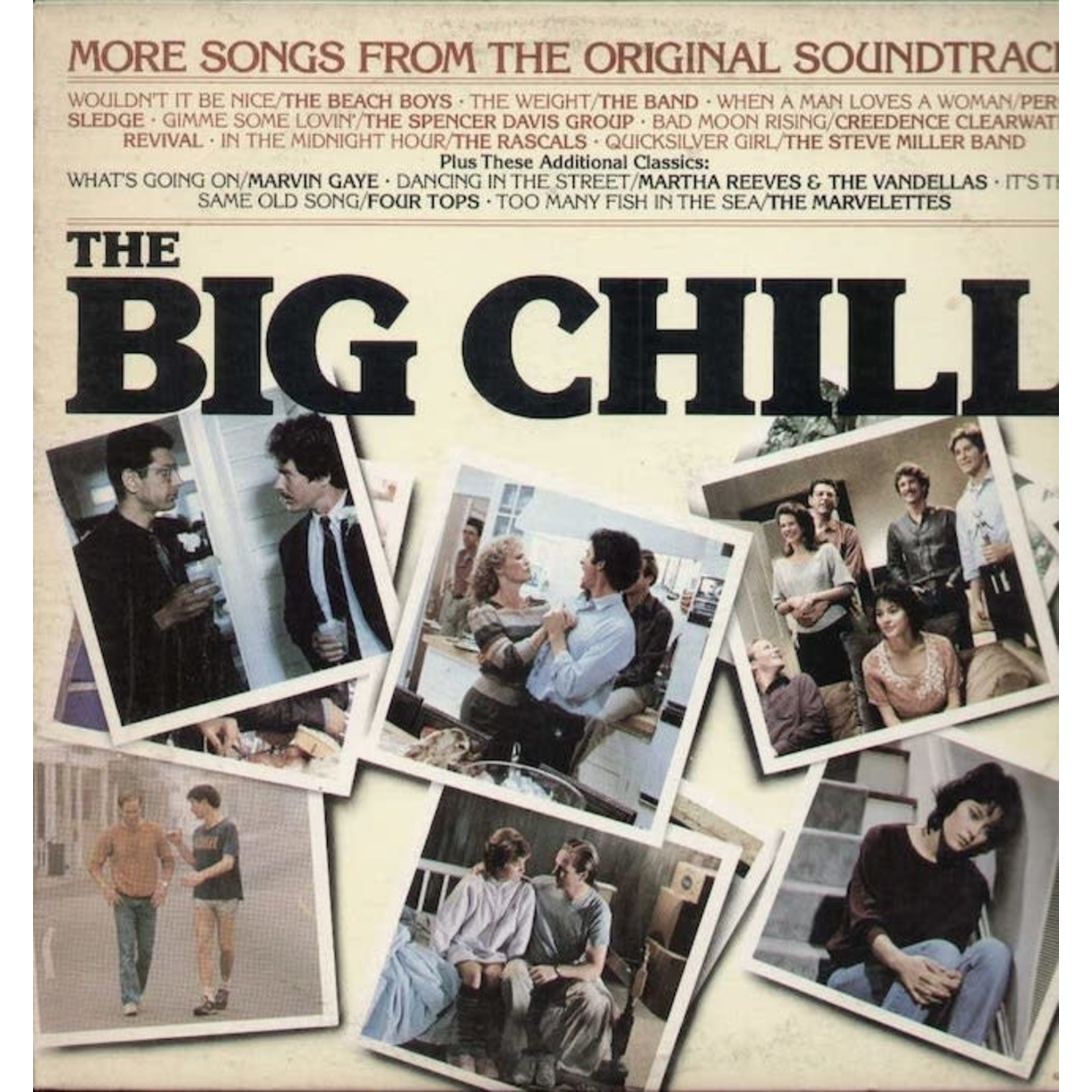 [Vintage] Various: More Songs From Big Chill (Soundtrack)
