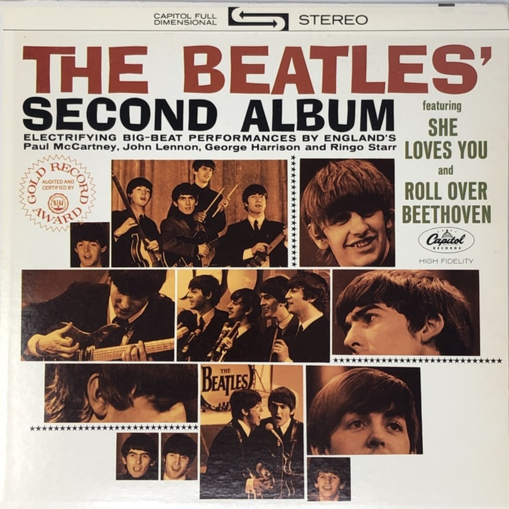[Vintage] Beatles: Second Album (reissue)