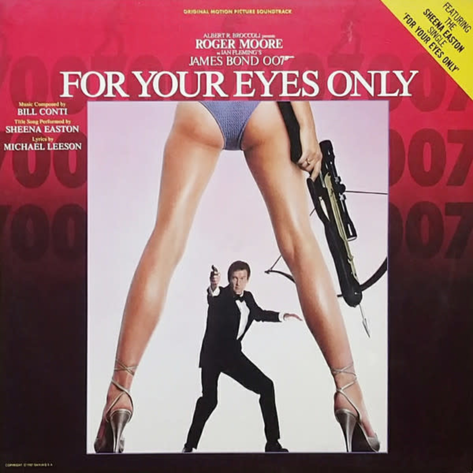 [Vintage] Conti, Bill: James Bond: For Your Eyes Only (Soundtrack)
