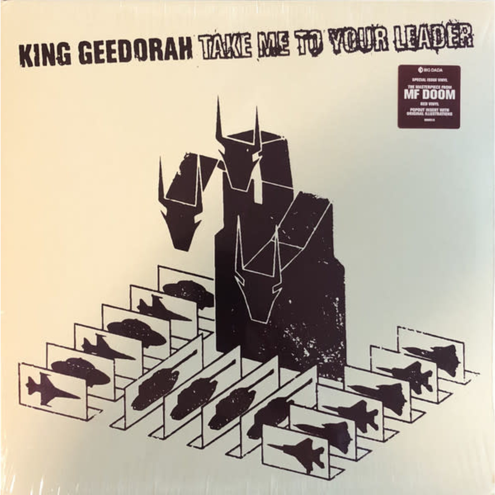 [New] King Geedorah: Take Me To Your Leader (2LP, red vinyl)