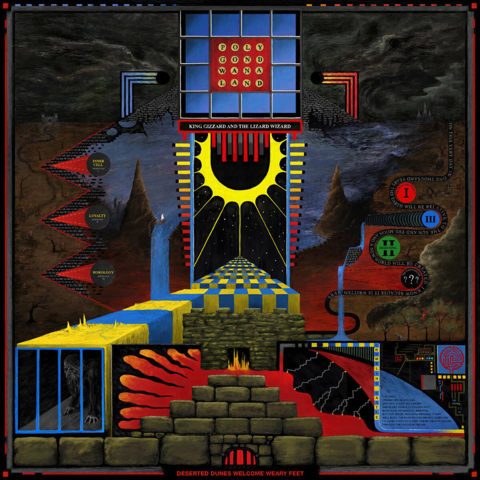 [New] King Gizzard & the Lizard Wizard: Polygondwanaland (Limited Ed., multicoloured vinyl)