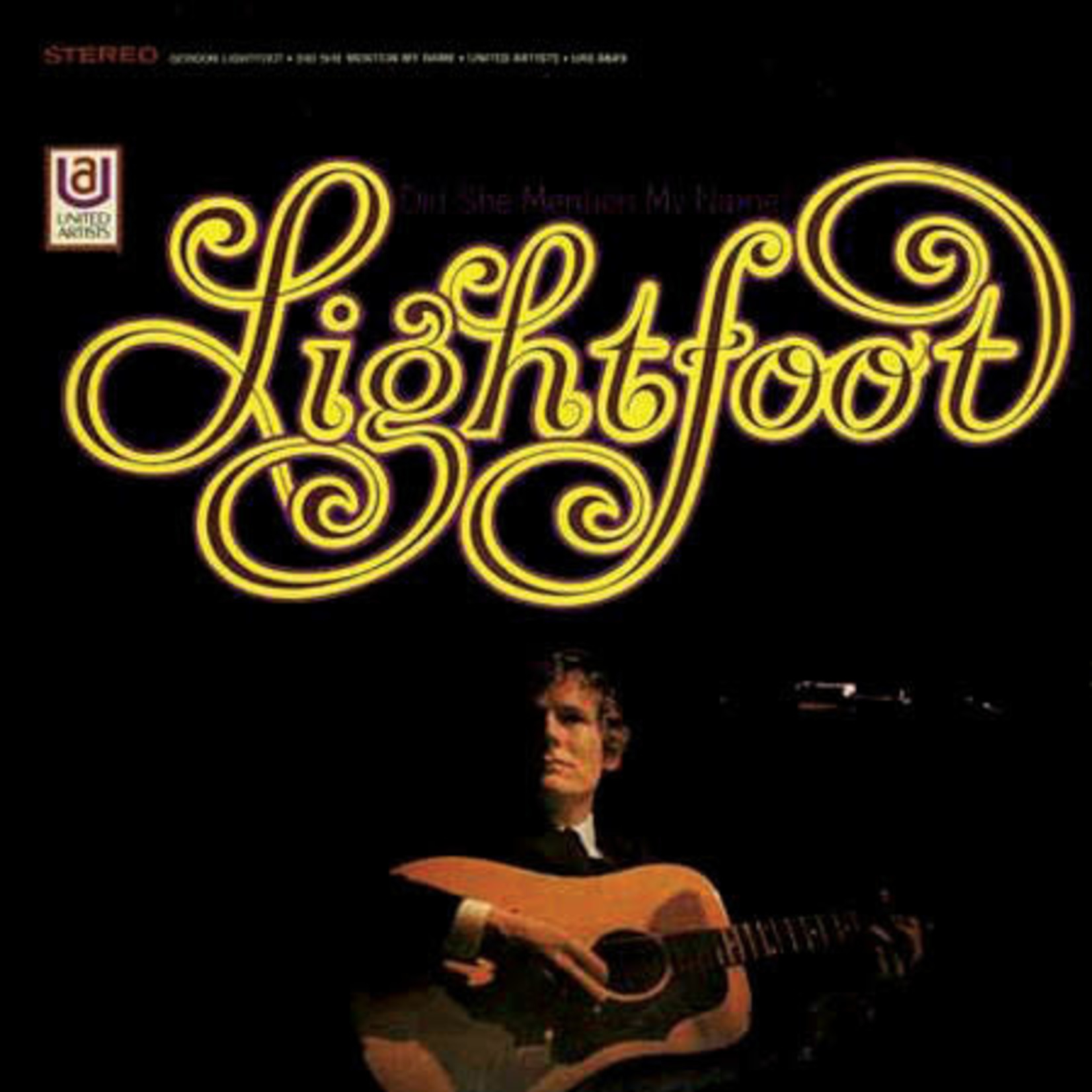 [Vintage] Lightfoot, Gordon: Did She Mention My Name?