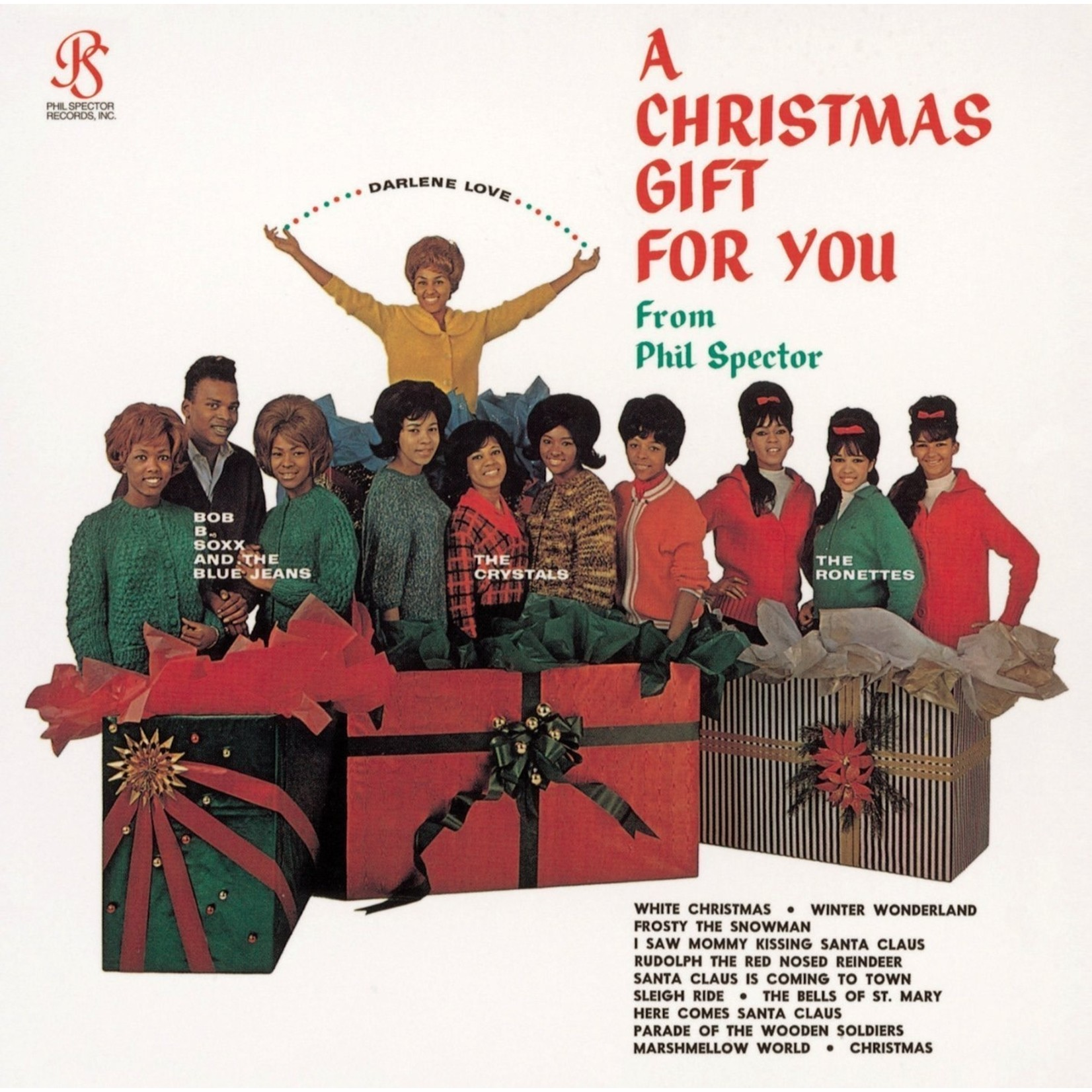[New] Various (Phil Spector): A Christmas Gift For You From Philles Records