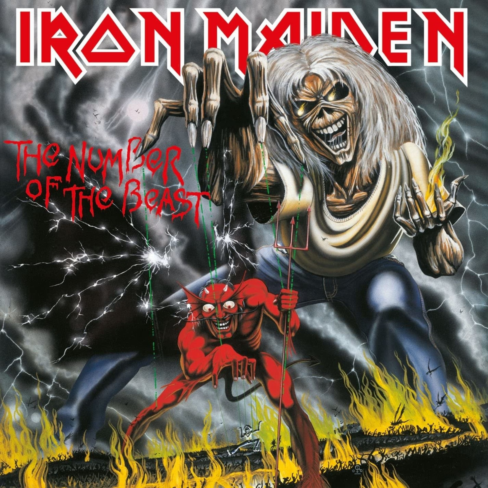 [New] Iron Maiden: The Number Of the Beast (import)