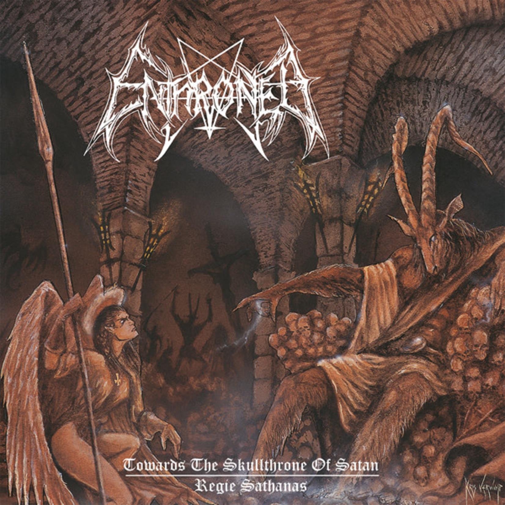 [New] Enthroned: Towards The Skullthrone Of Satan/Regie Sathanas EP (2LP, splatter vinyl)
