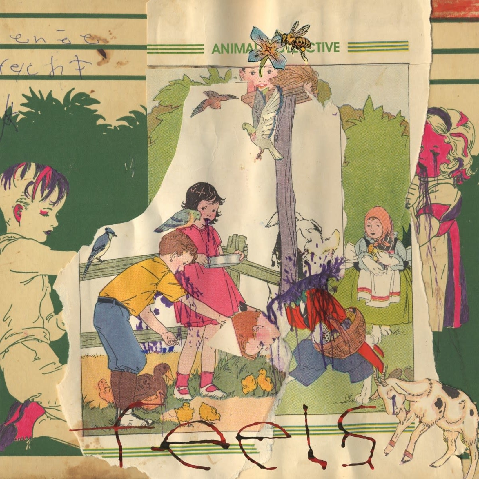 [New] Animal Collective: Feels (2LP)