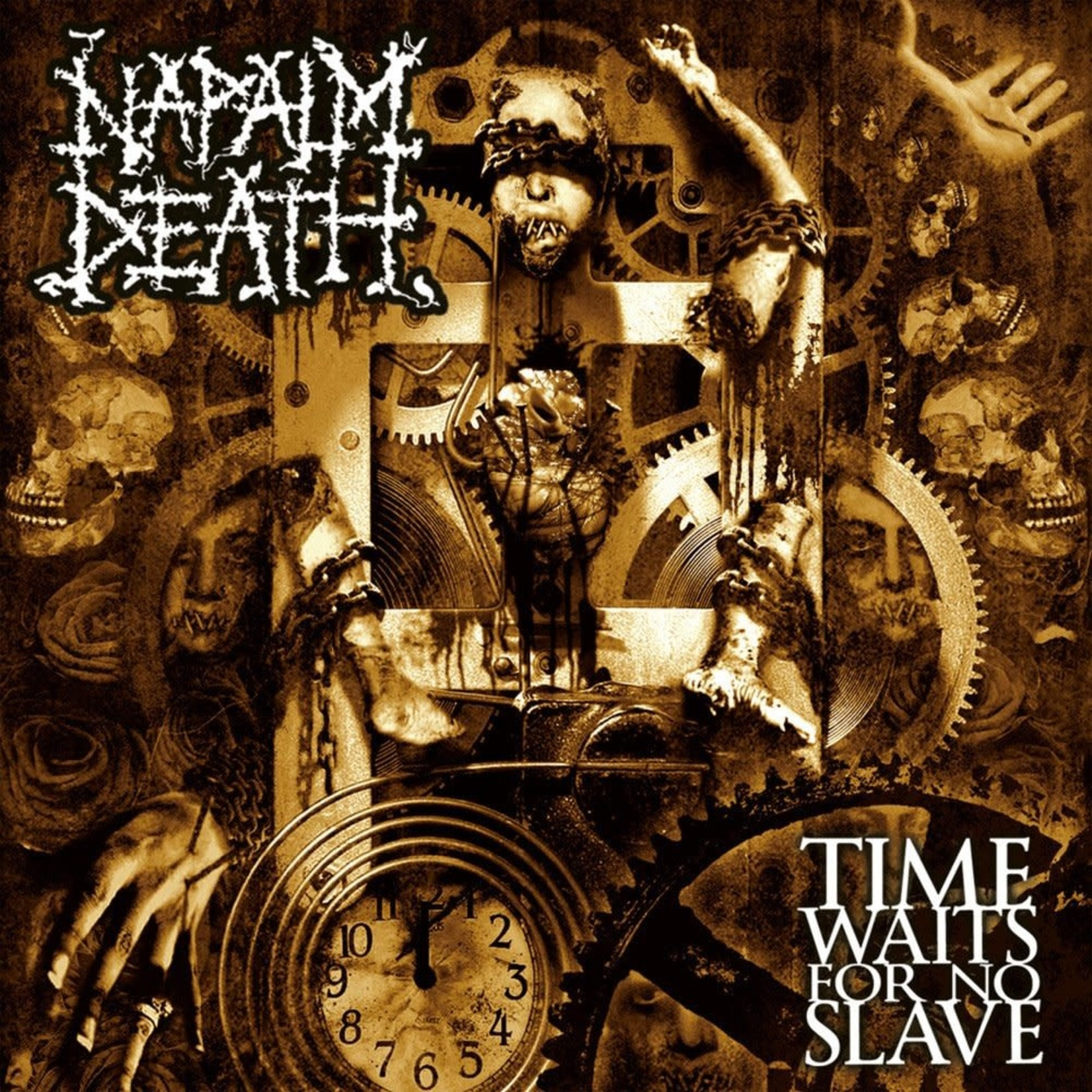 [New] Napalm Death: Time Waits For No Slave