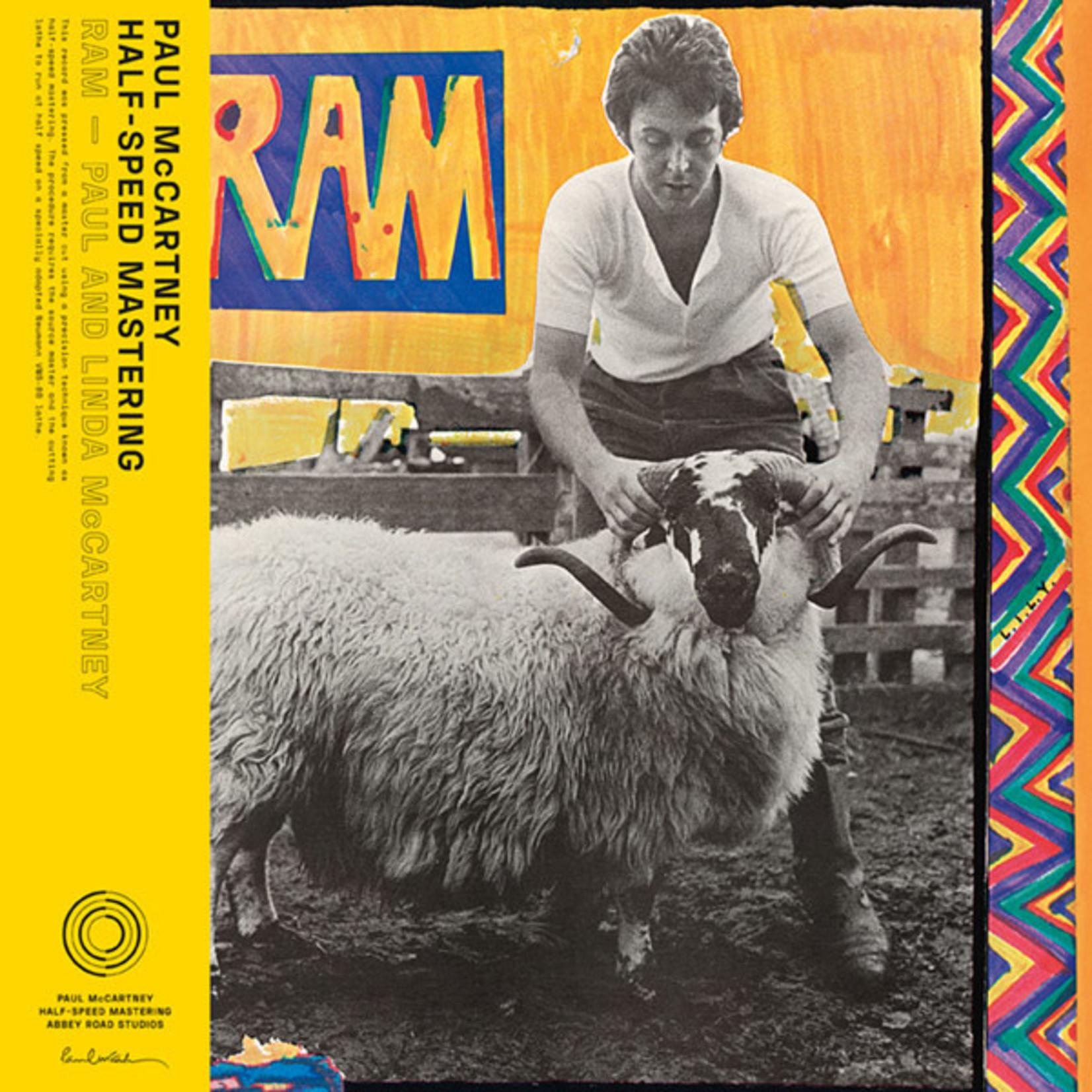 [New] McCartney, Paul & Linda (Beatles): Ram (50th Anniversary Ed., Abbey Road half-speed remaster)
