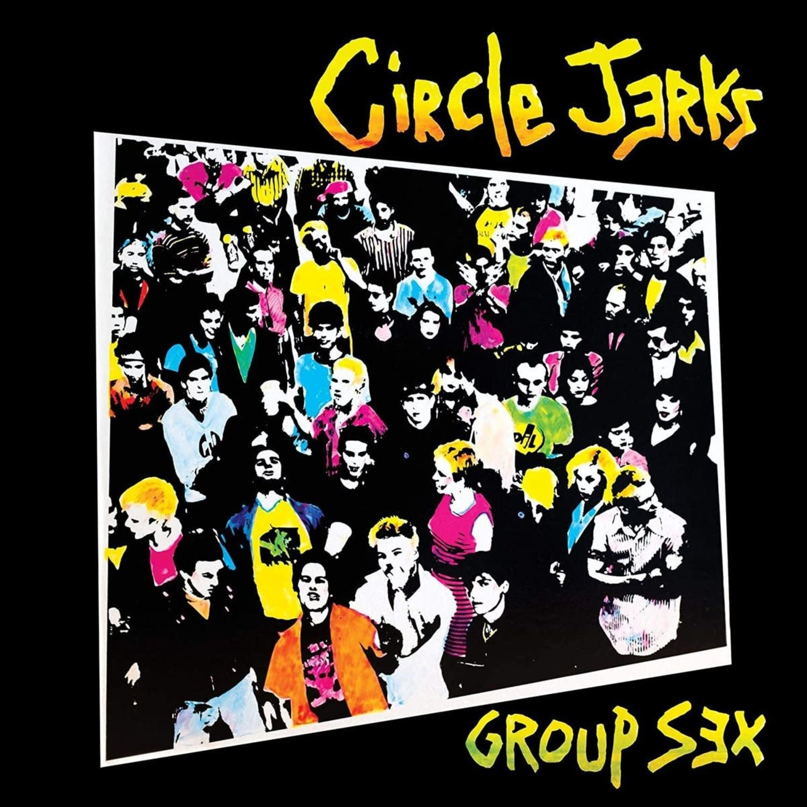 [New] Circle Jerks: Group Sex (40th Anniversary Ed., yellow vinyl)