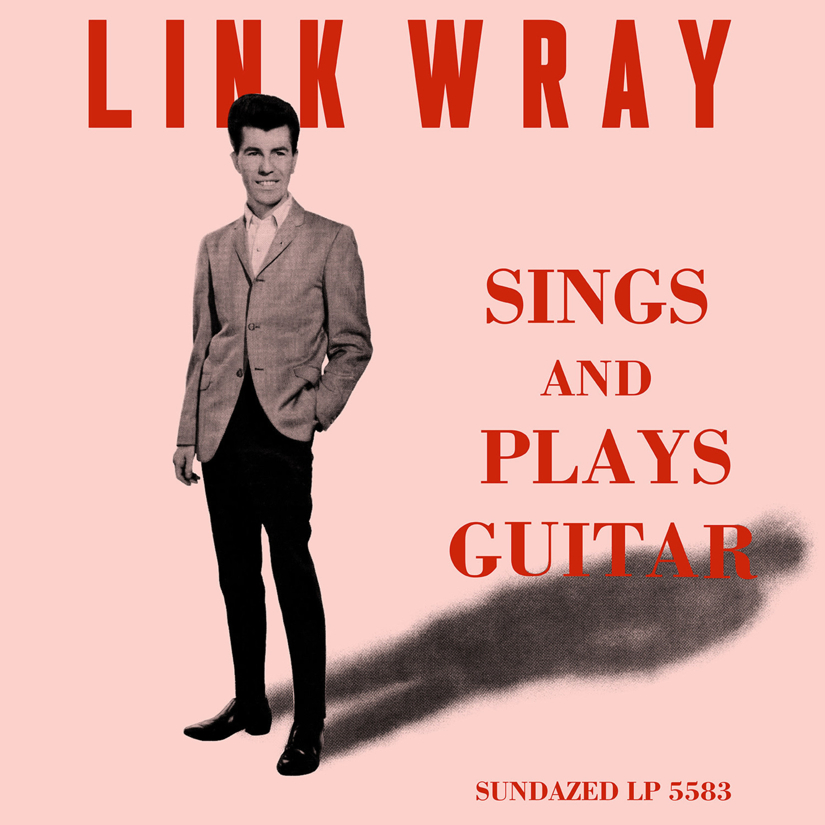 [New] Wray, Link: Sings And Plays Guitar (clear vinyl)