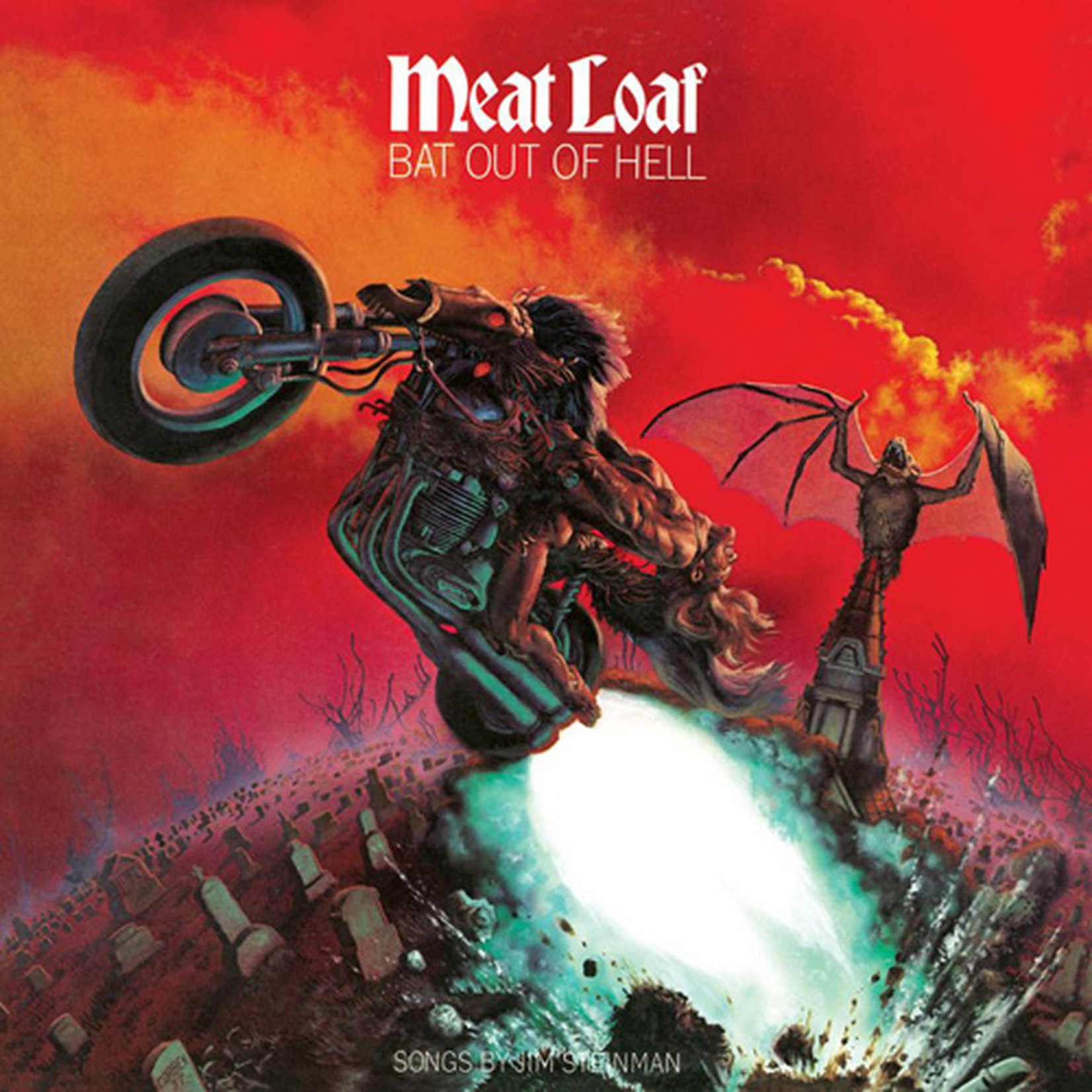[New] Meat Loaf: Bat Out Of Hell (clear vinyl)