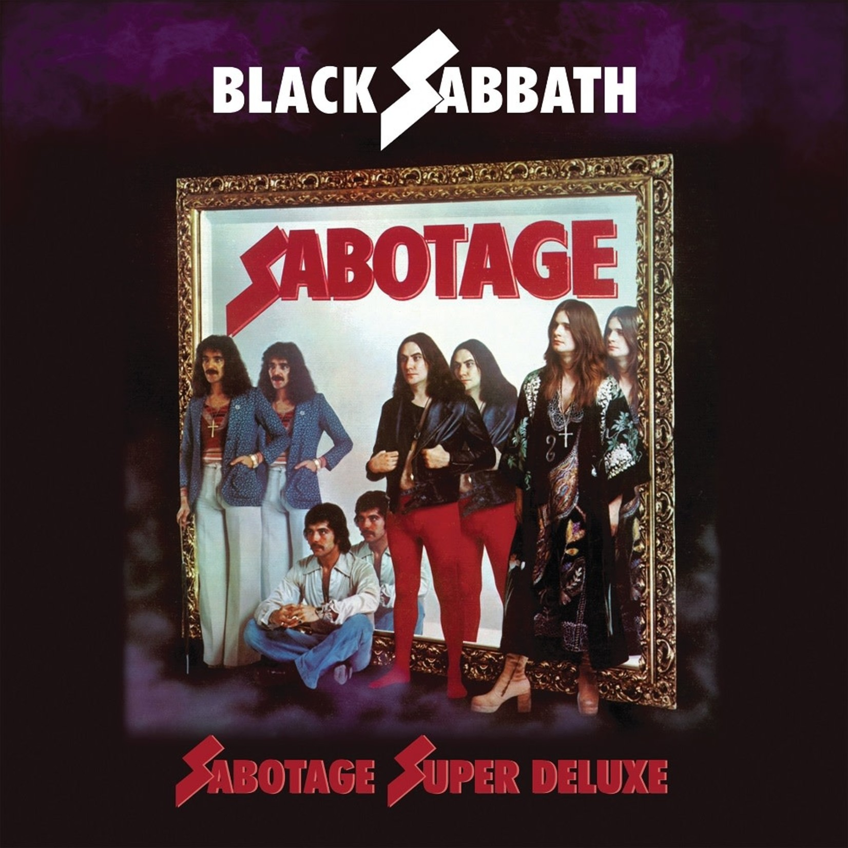 [New] Black Sabbath: Sabotage (4LP+7'', Super Deluxe Ed., box-set)