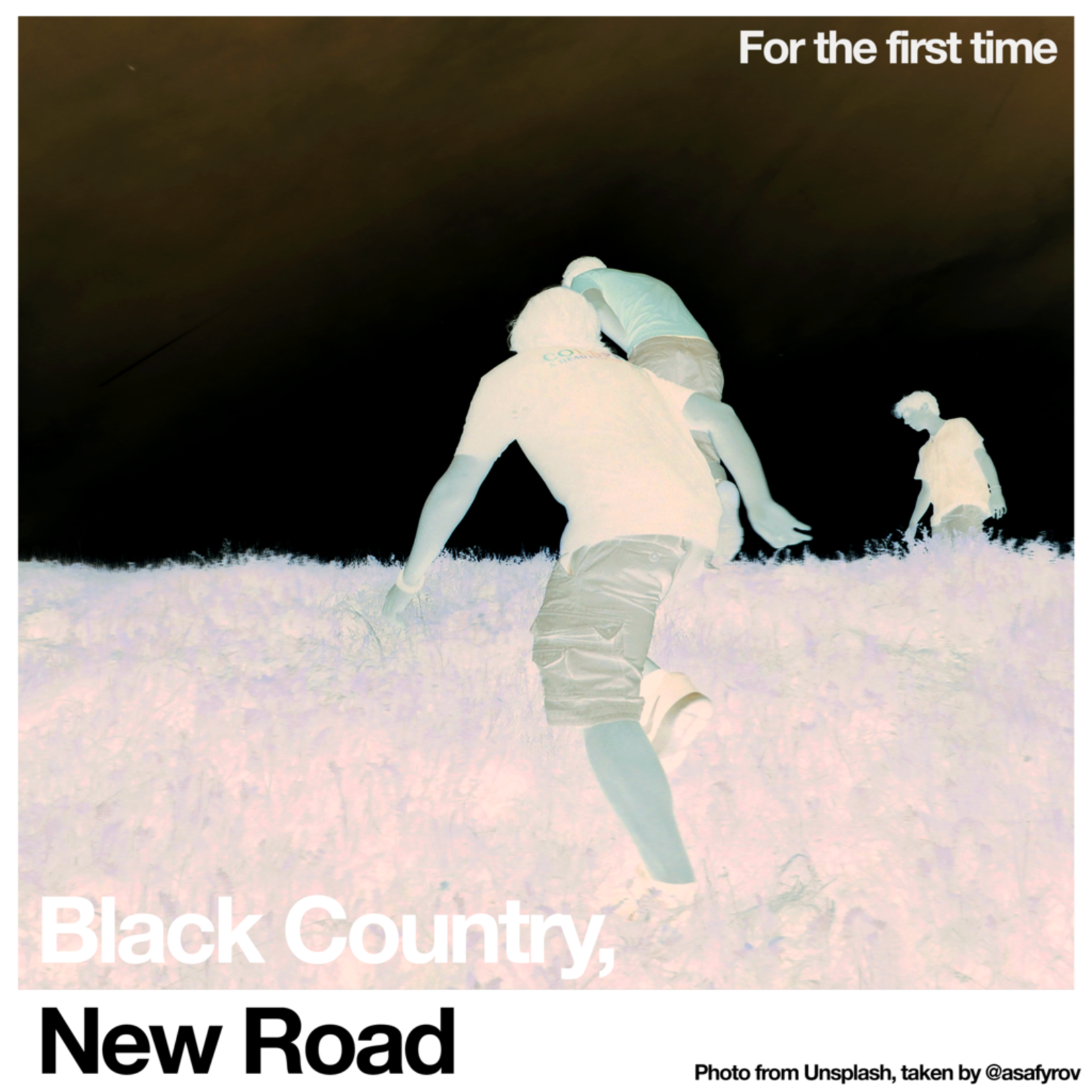 [New] Black Country, New Road: For The First Time (Indie Excl., white vinyl)