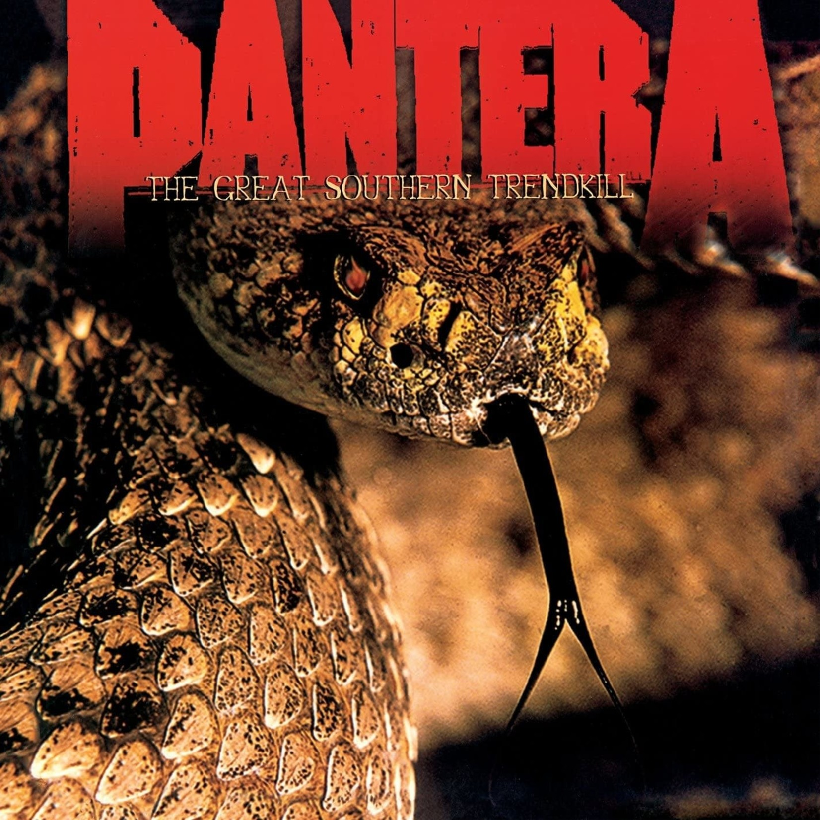 [New] Pantera: The Great Southern Trendkill (marbled white & orange)