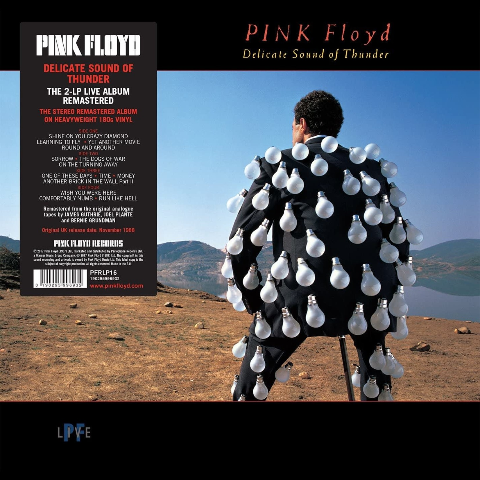 [New] Pink Floyd: Delicate Sound Of Thunder (Live) (2LP)